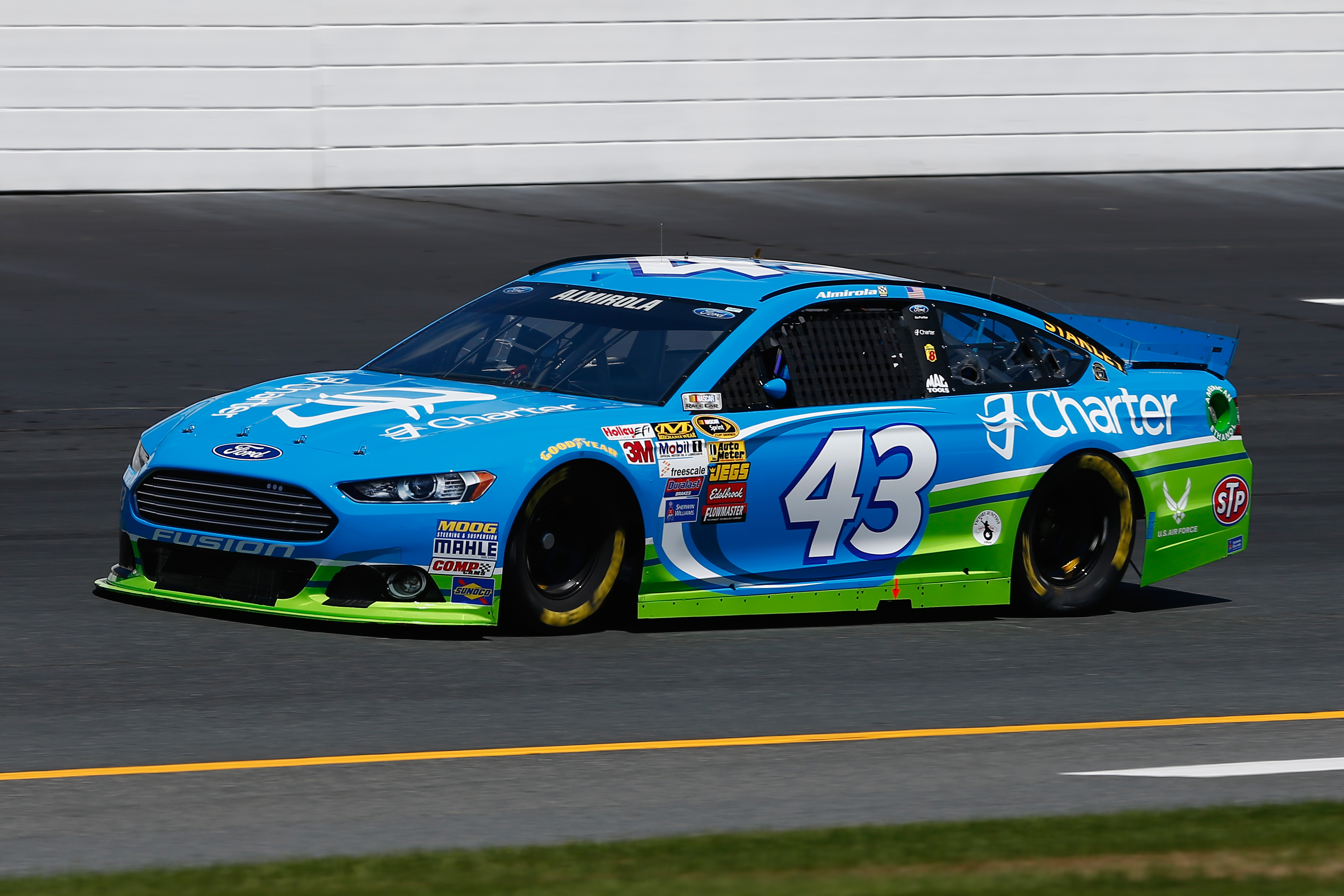 Aric Almirola's first career win couldn't have been bigger