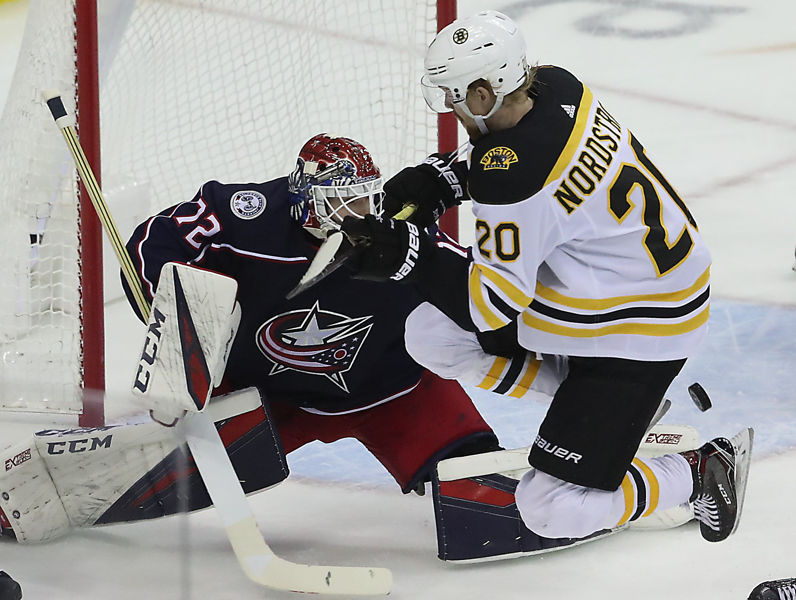 Bruins' Sean Kuraly Had Goal Disallowed After A Review