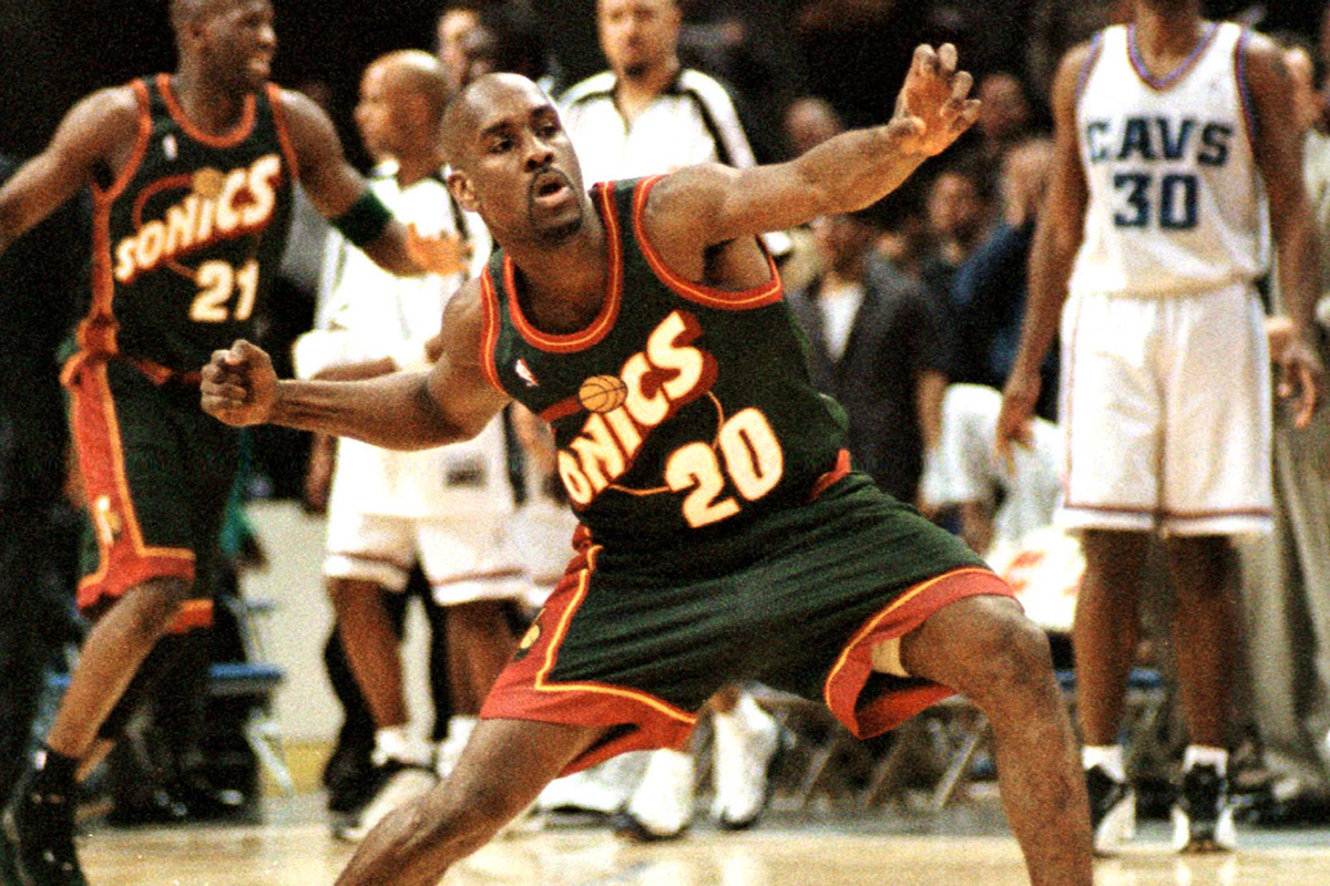 wholesale dealer 43a3a cd987 Departure from Seattle bad memory for Gary Payton - The ...