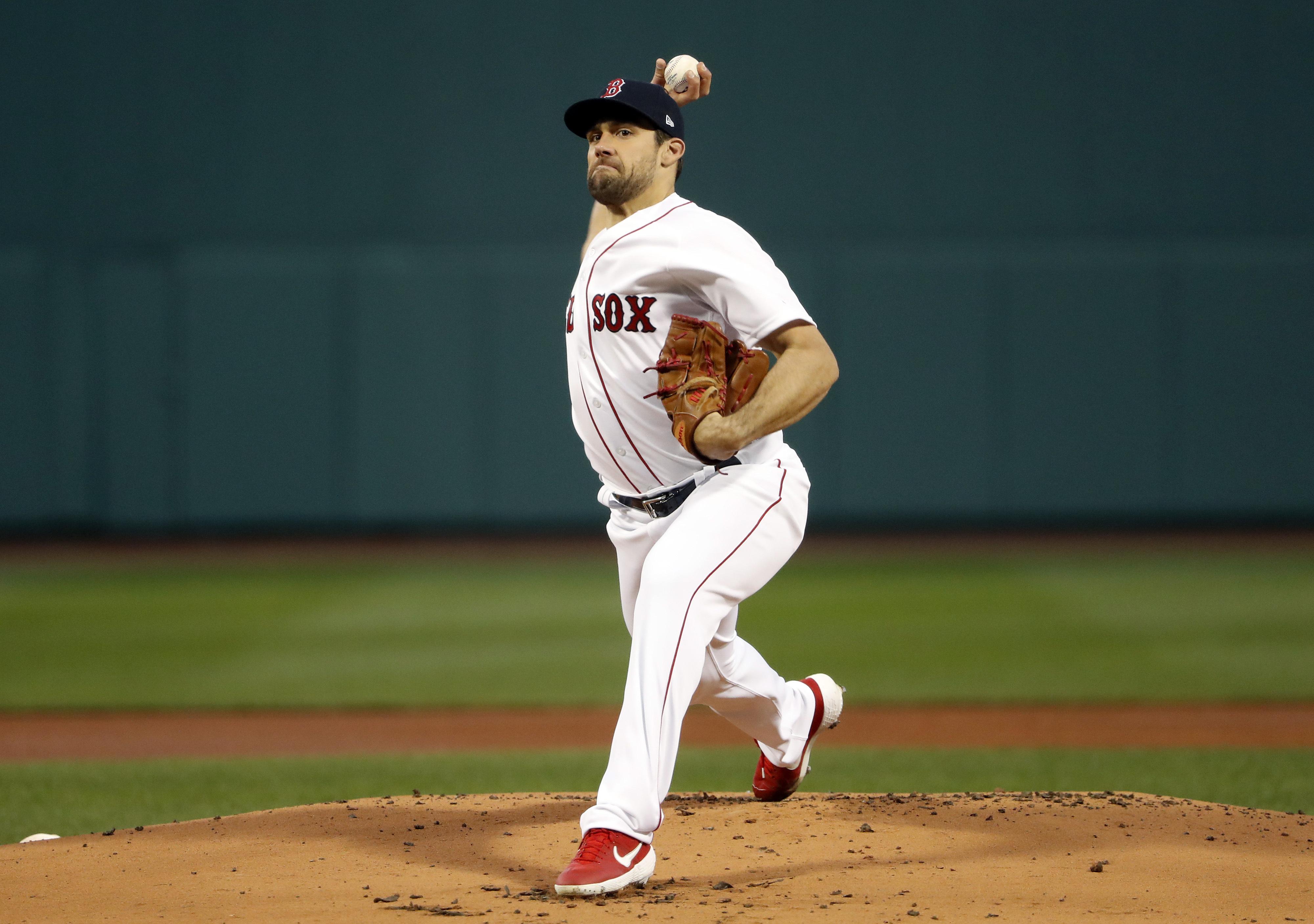 Red Sox not considering Nathan Eovaldi for bullpen
