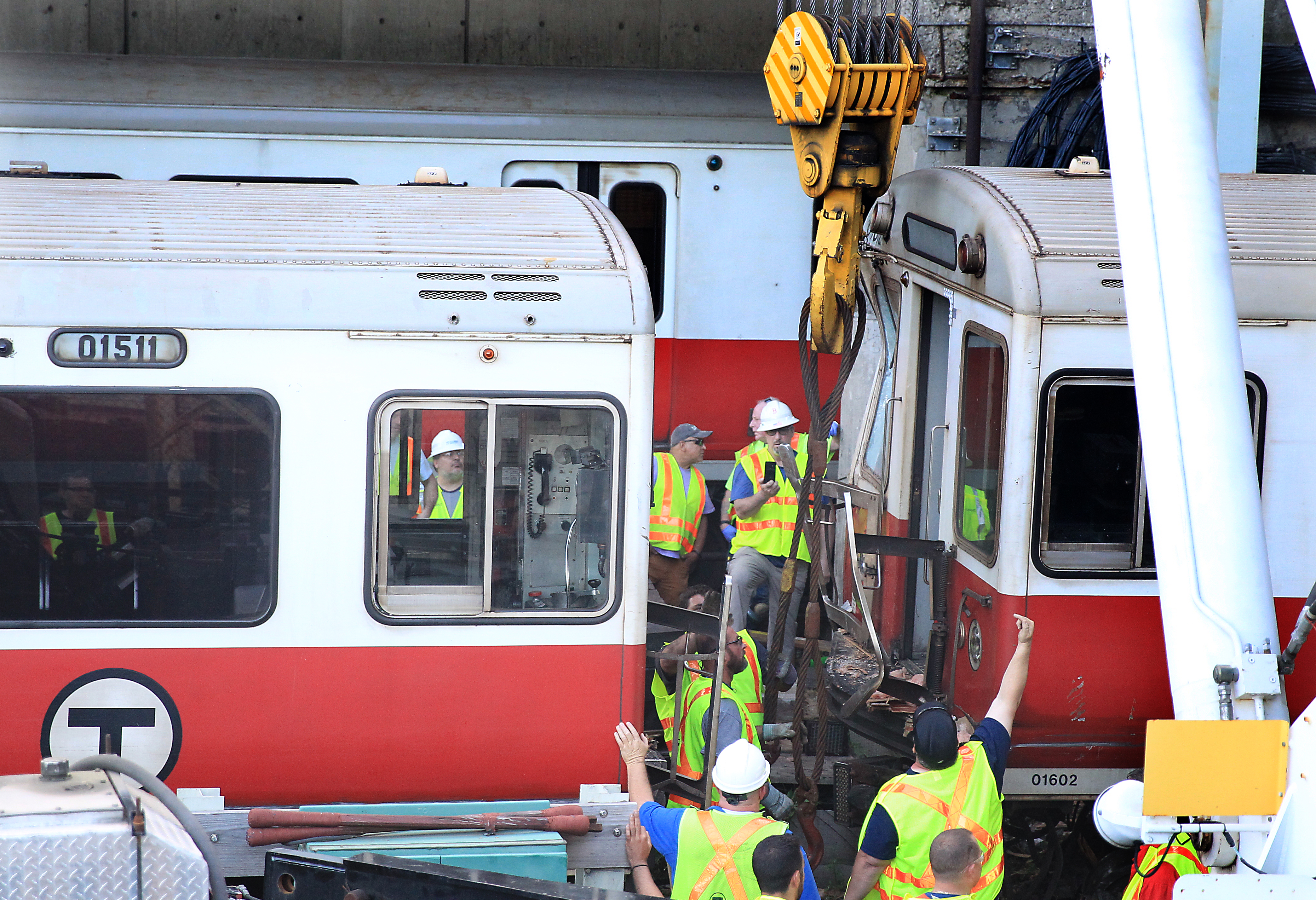MBTA among nation's worst for derailments, records show