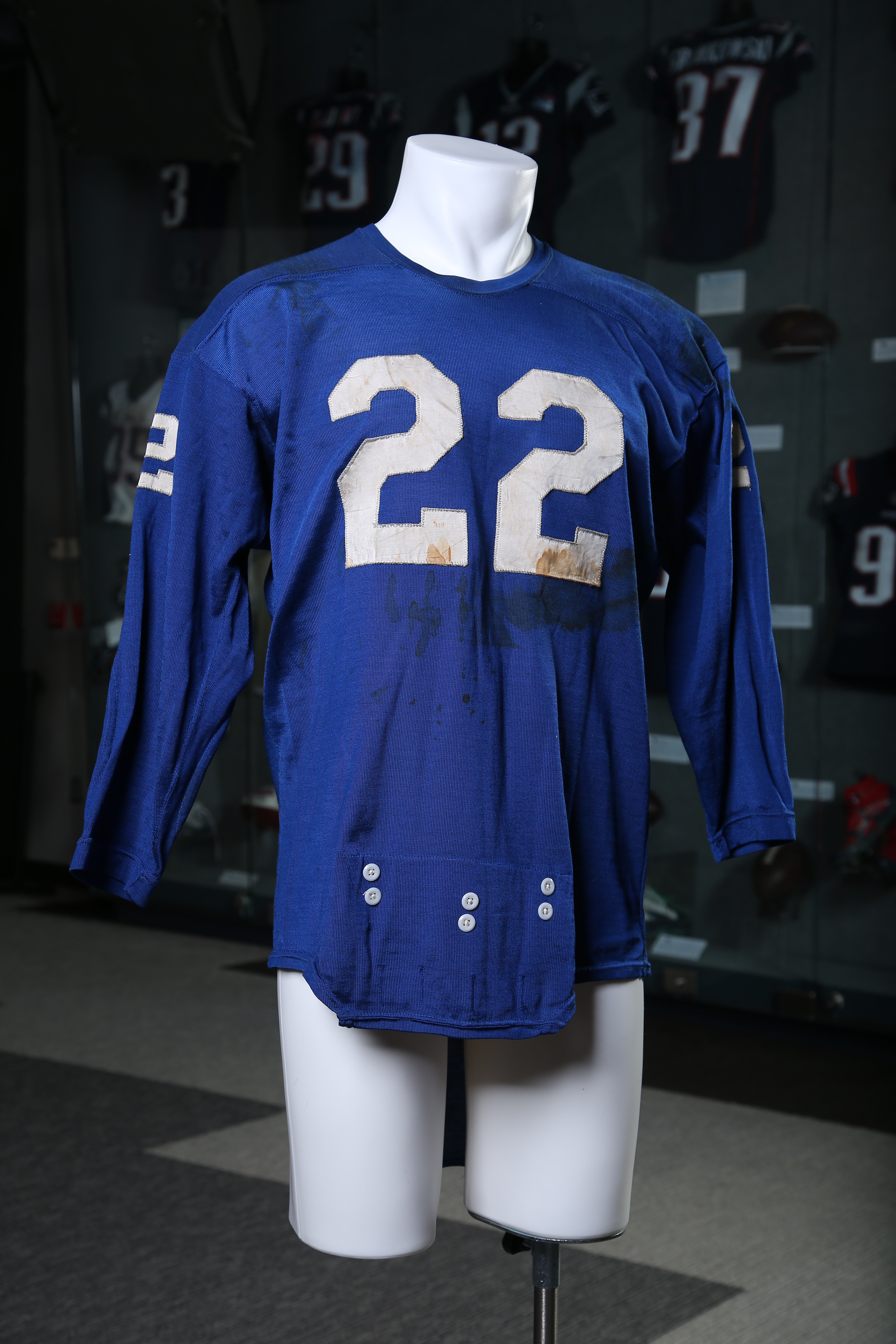 Patriot Place launches game worn NFL jersey exhibit The Boston Globe