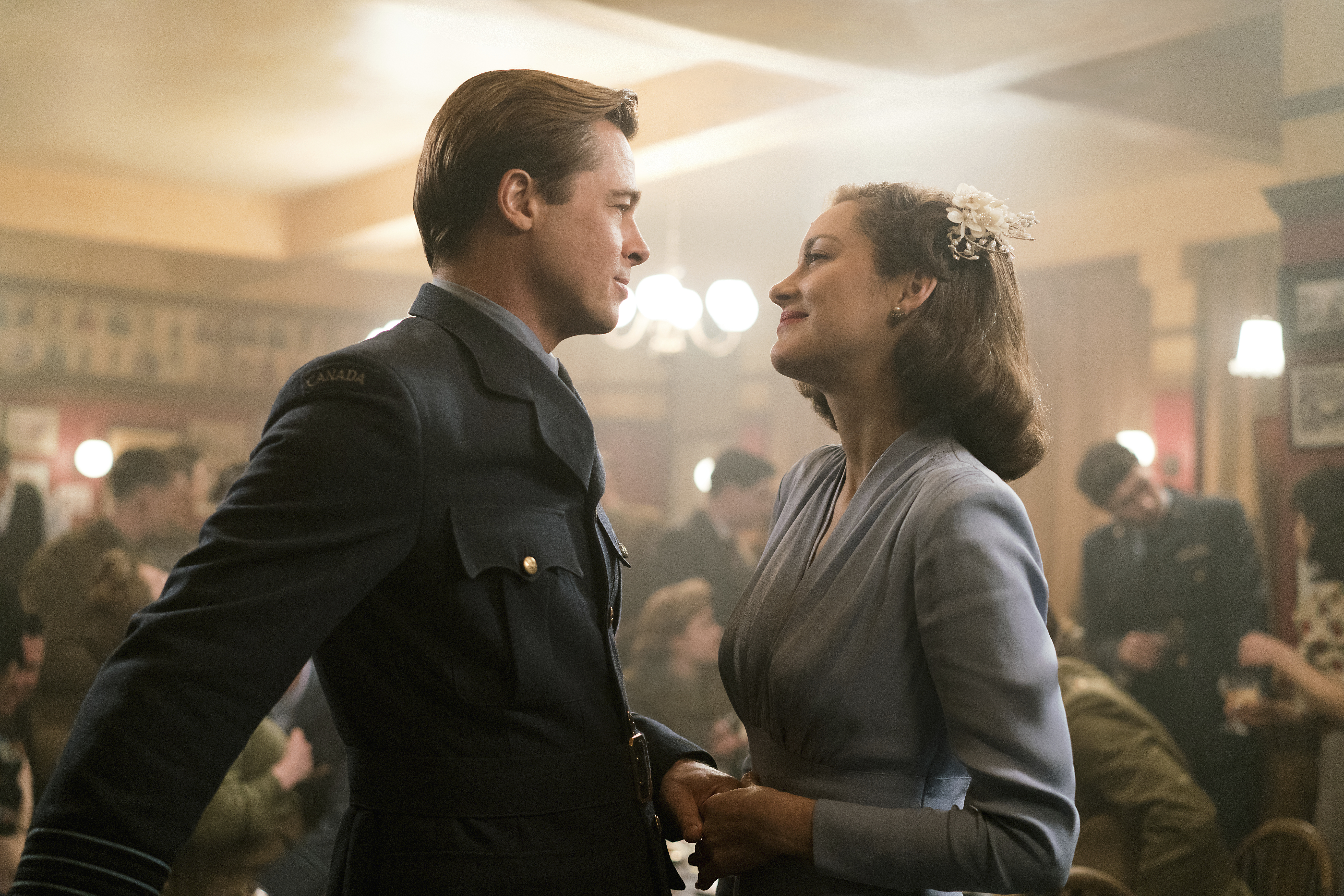 Brad Pitt And Marion Cotillard Have Star Power To Burn In Allied