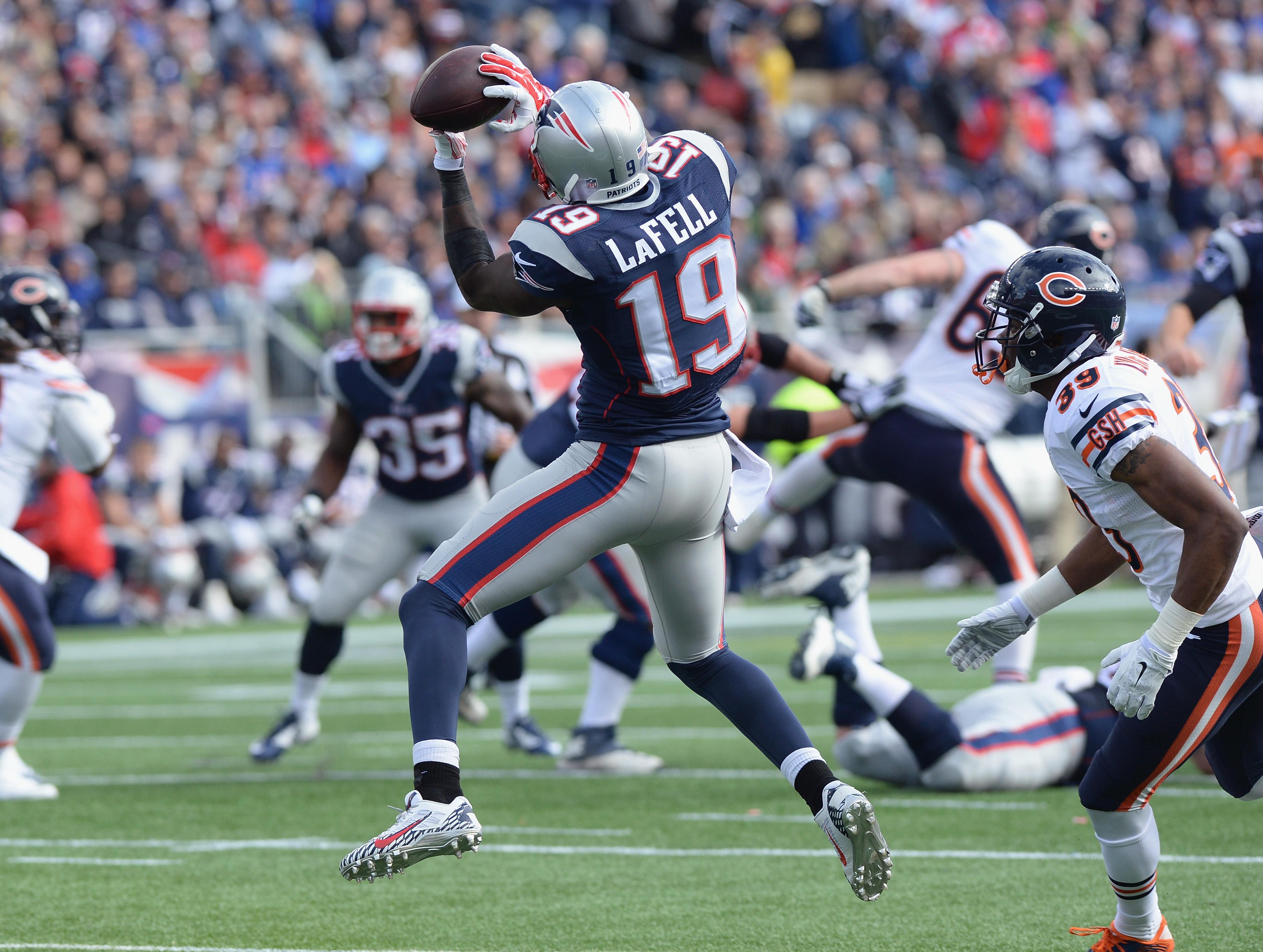 Brandon LaFell has found his niche with Patriots - The Boston Globe