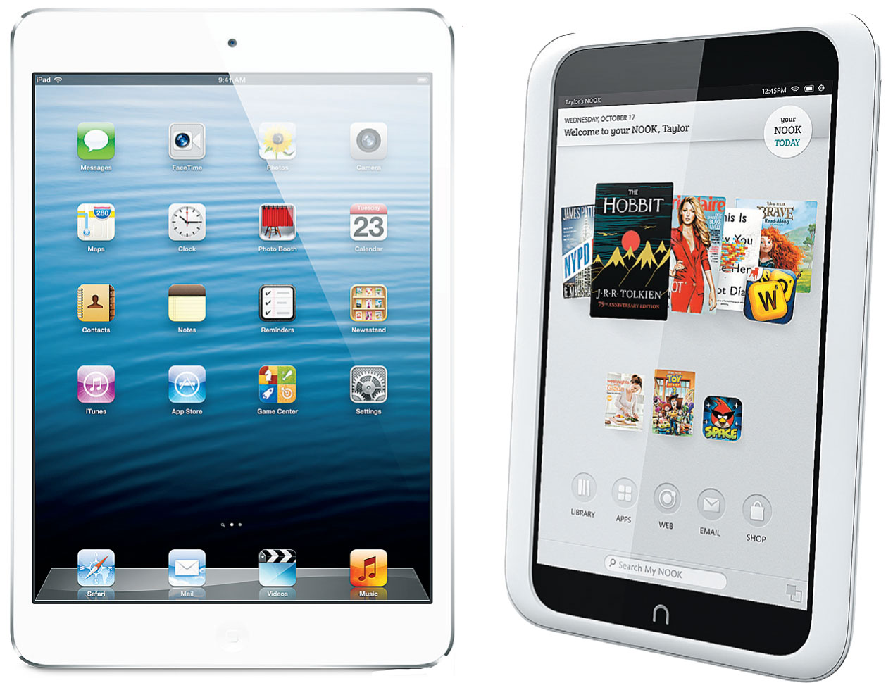 Newest Nook may be a better option than iPad mini - The