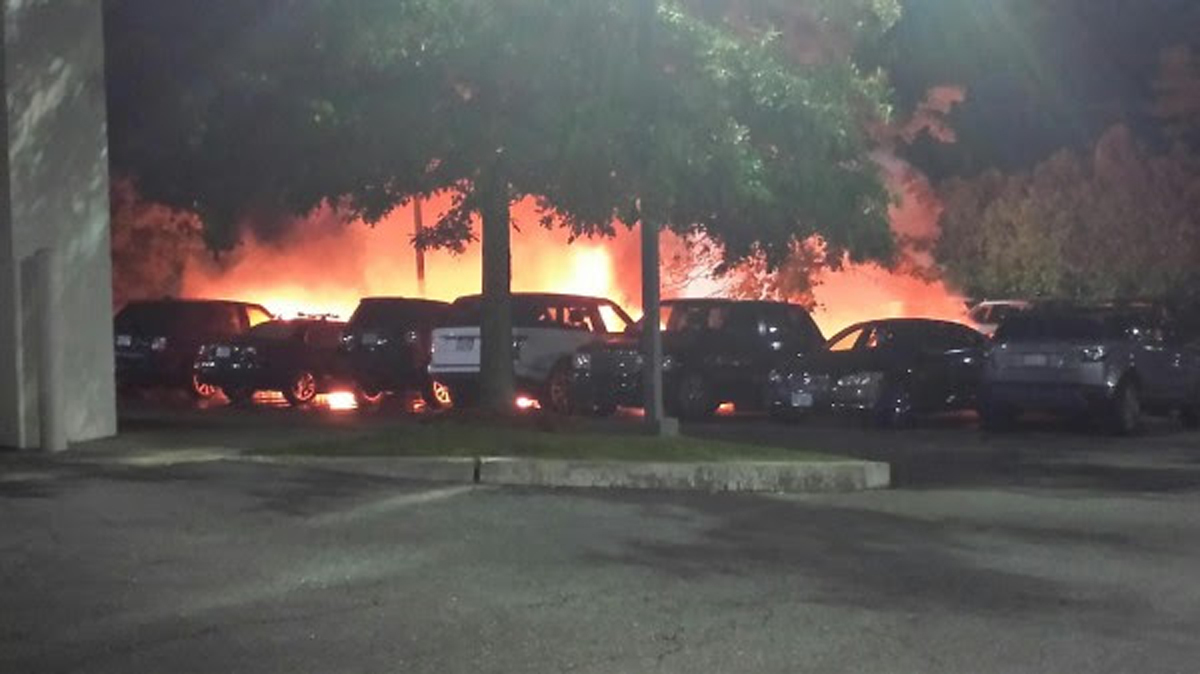 Sudbury Car Dealerships >> Jaguar Car S Defect Tied To Dealership Fire The Boston Globe