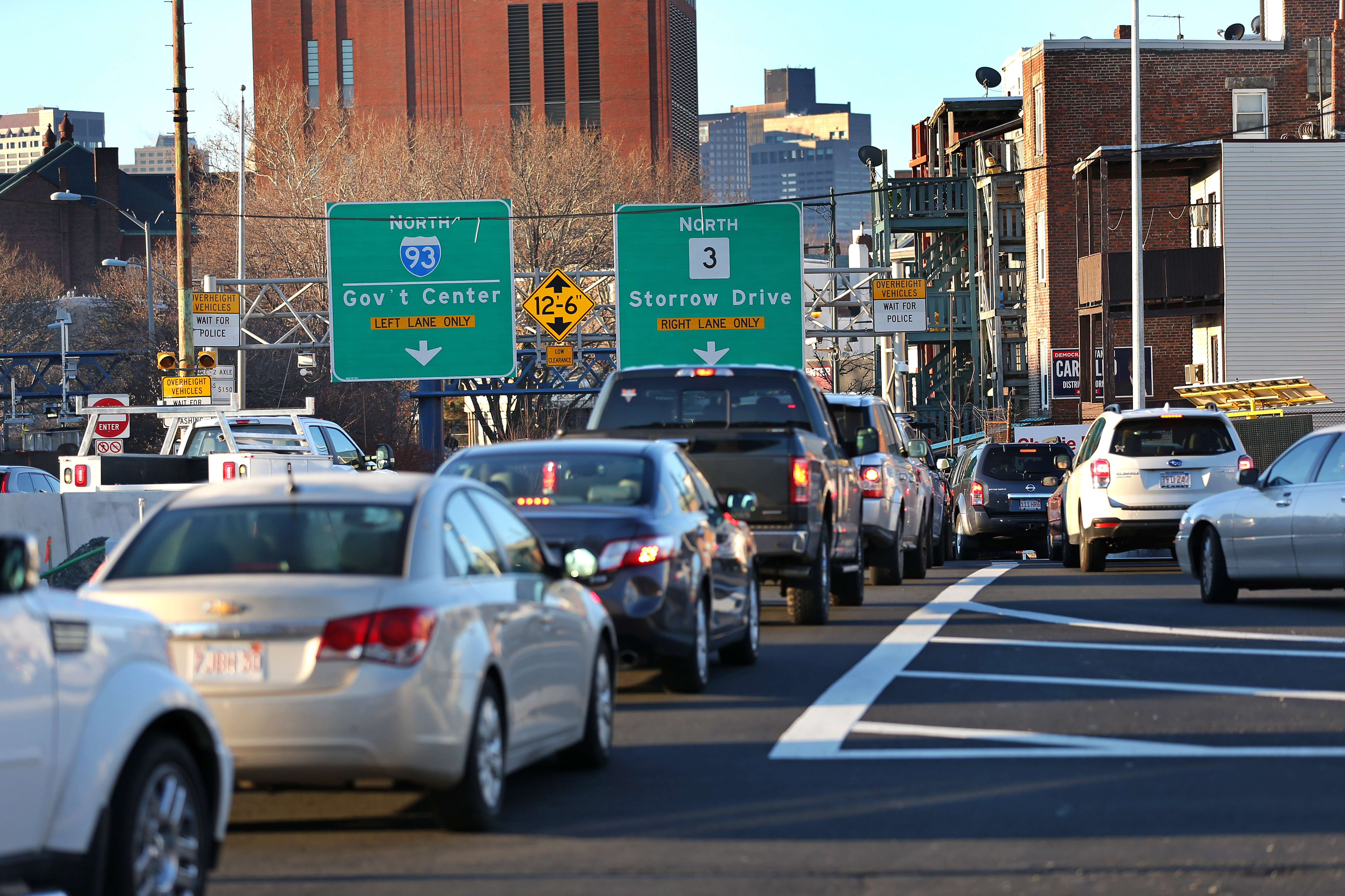 Charlie Baker's traffic report offers hope to North Shore commuters