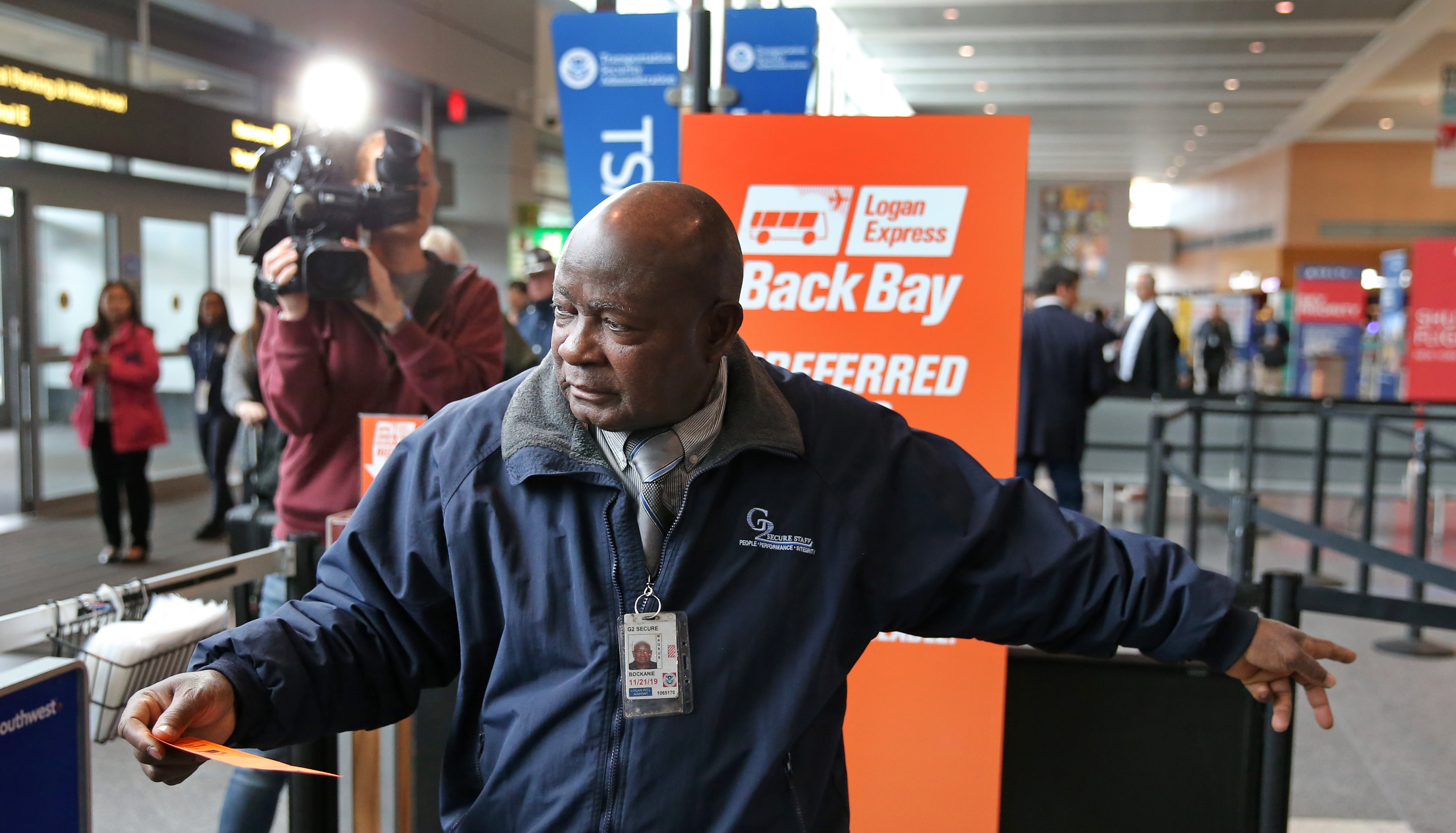 If you take this bus to Logan Airport, Massport will let you cut the