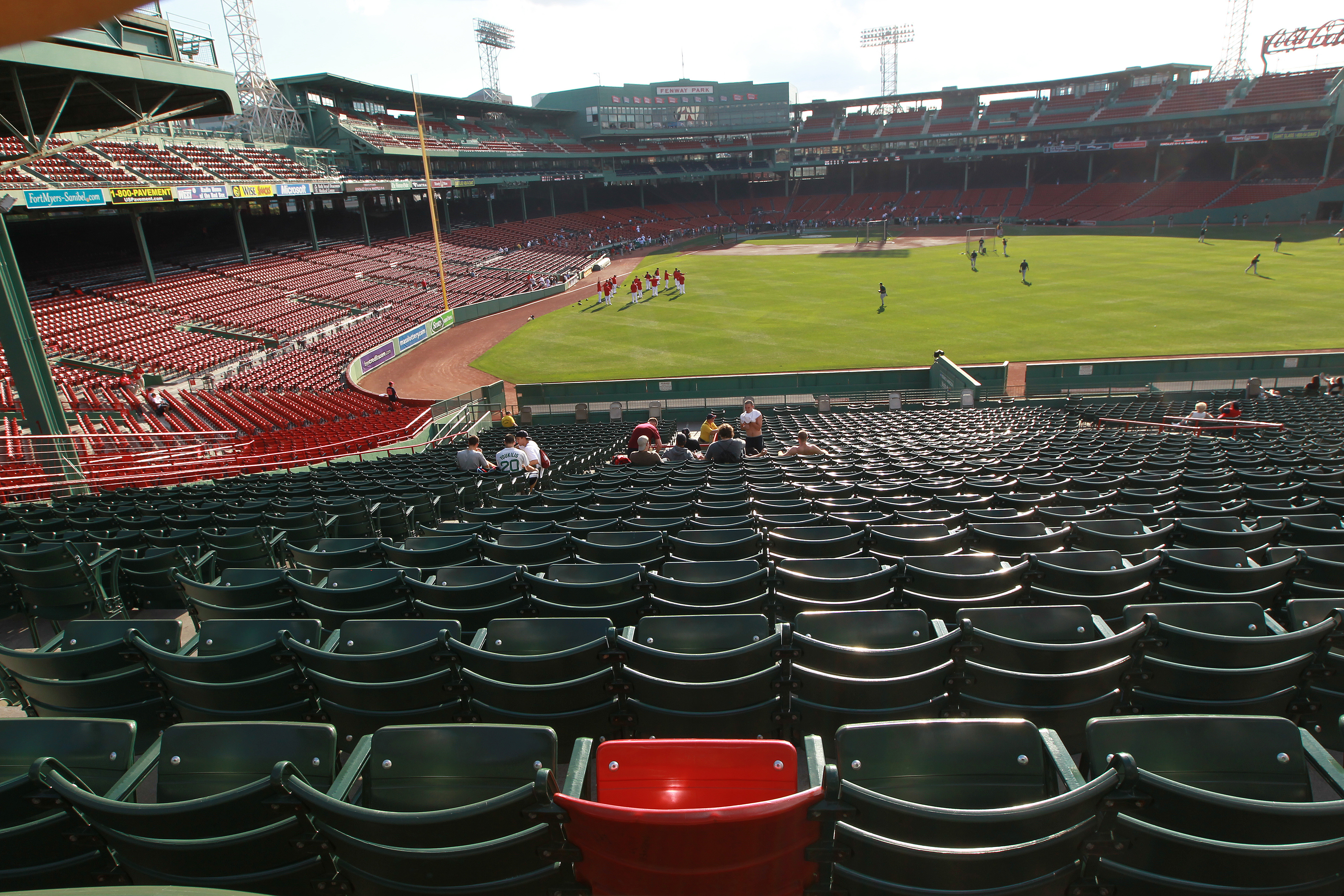 Ted Williams S Blast Remains Fenway Park Benchmark The
