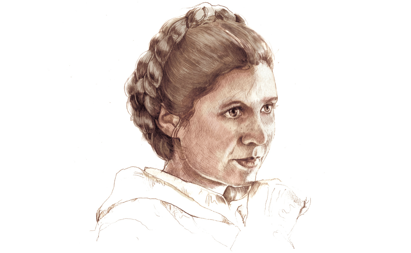She was a force: A 'Star Wars' fan remembers Leia, and the complicated woman who played her