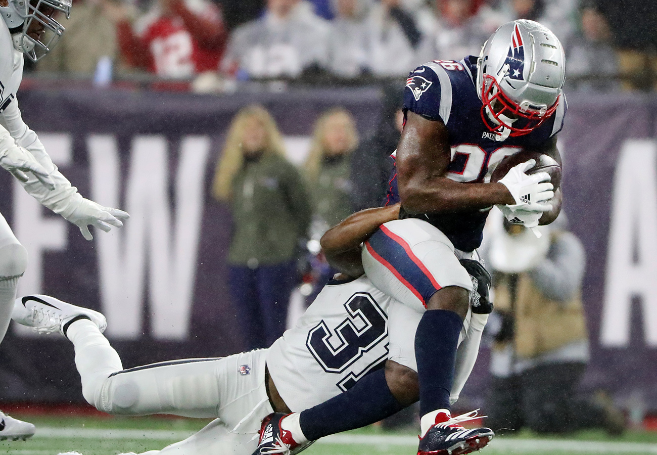 The Patriots' offense is one-dimensional, and you can blame the lack of run game