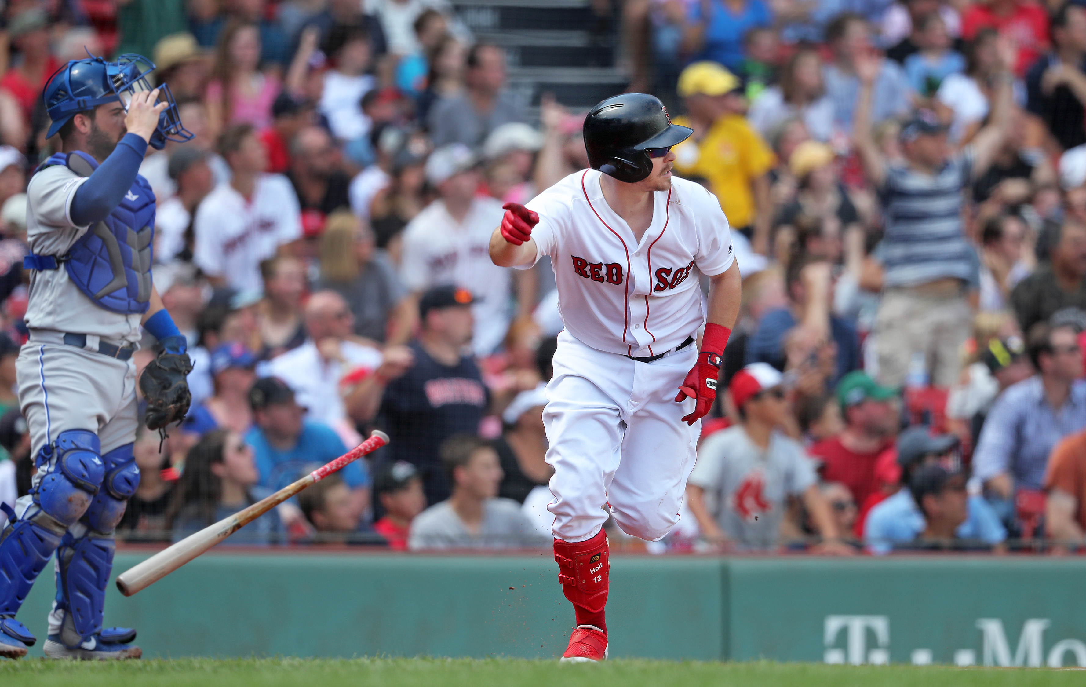 big sale 7d7f3 eef6b Facing a lefty no problem for Red Sox' Brock Holt - The ...