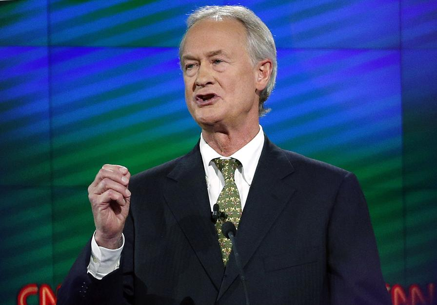 Lincoln Chafee is doing things that presidential candidates do
