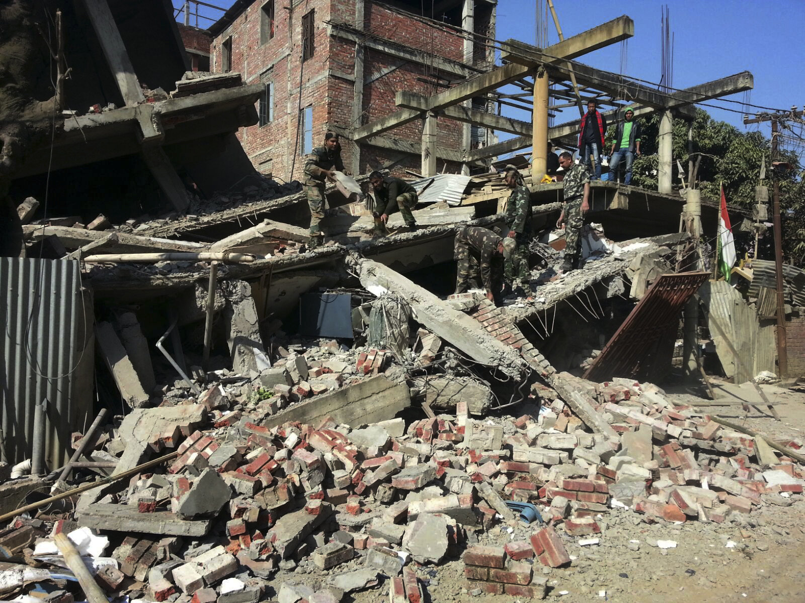 At least 8 killed as 6 7-magnitude earthquake hits rural