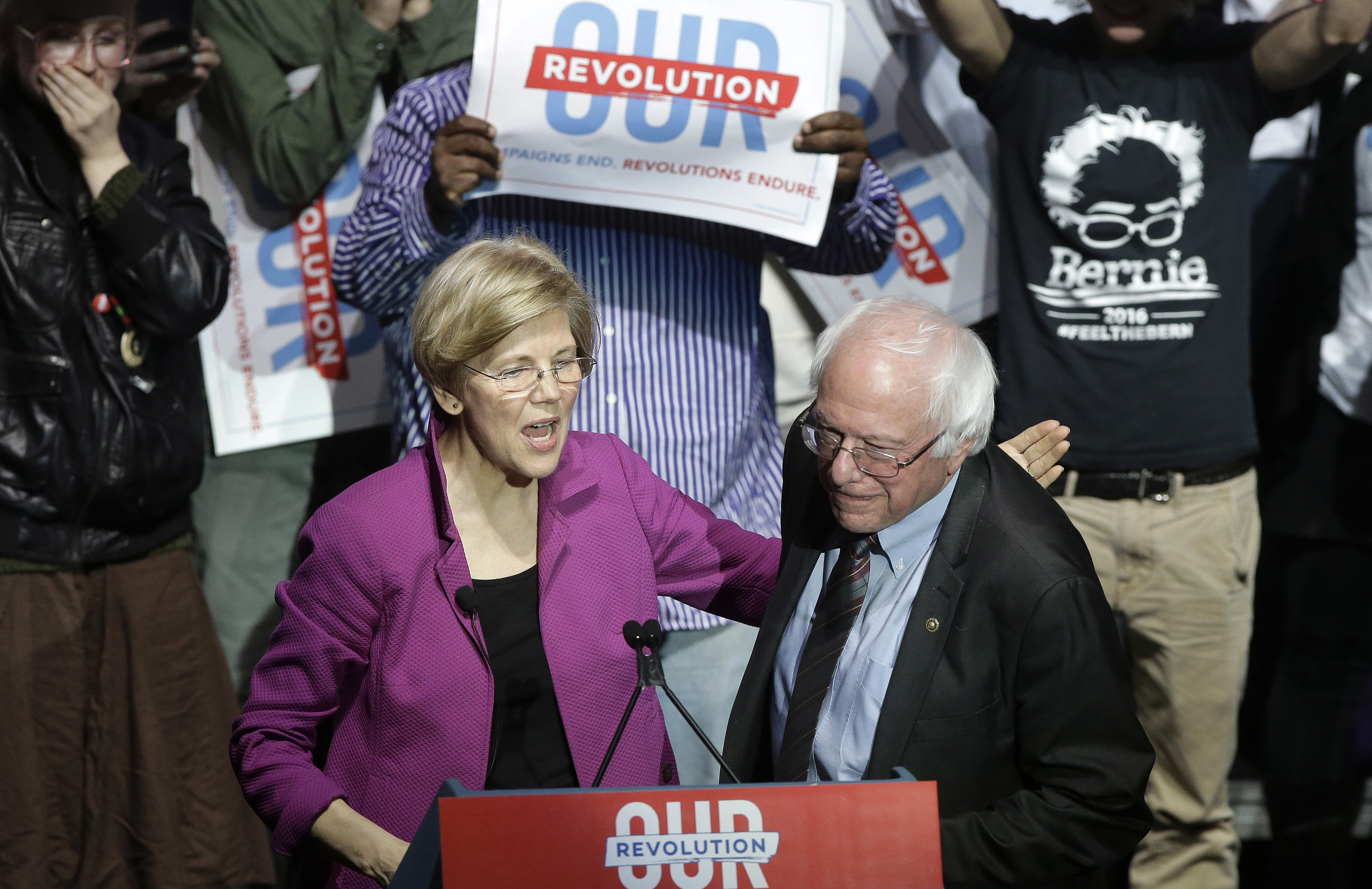 In 2020, Bernie Sanders must win the N.H. primary. Elizabeth Warren stands in his way