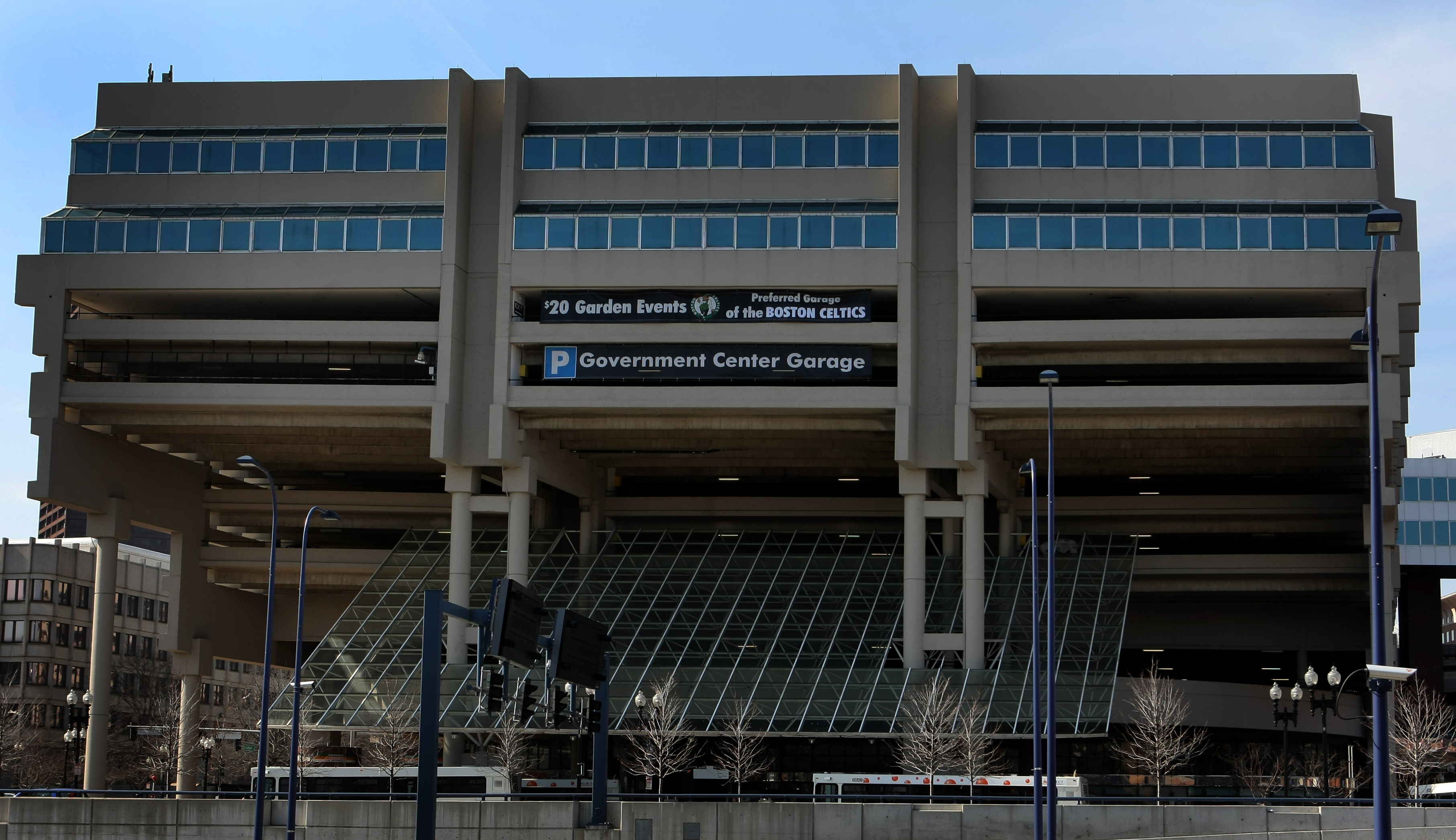 Government Center Garage Redevelopment Plan Revised The Boston Globe