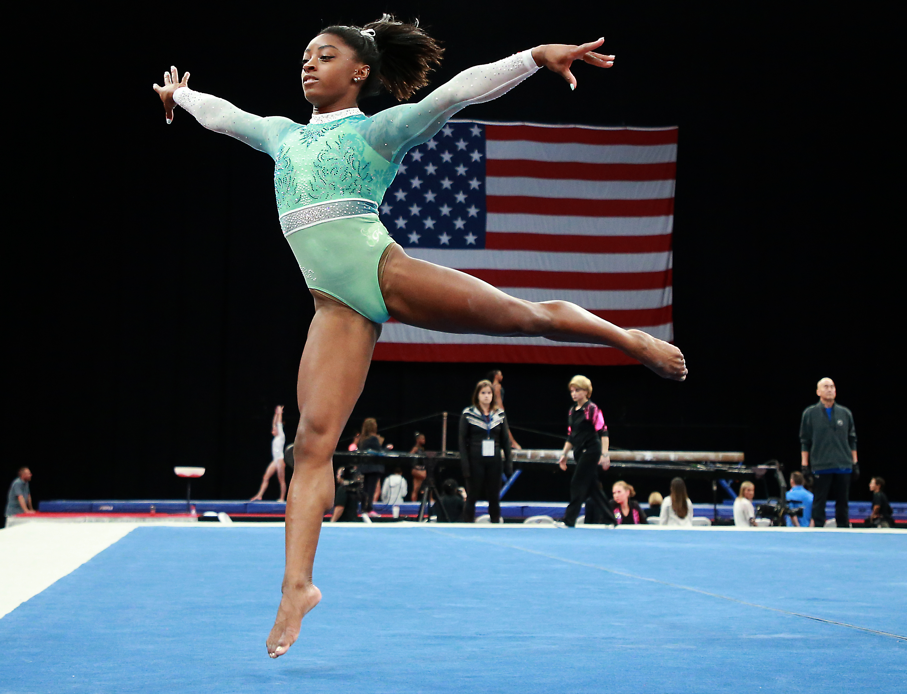 Once again simone biles is the top gymnast in the country the boston globe - Simone biles pics ...