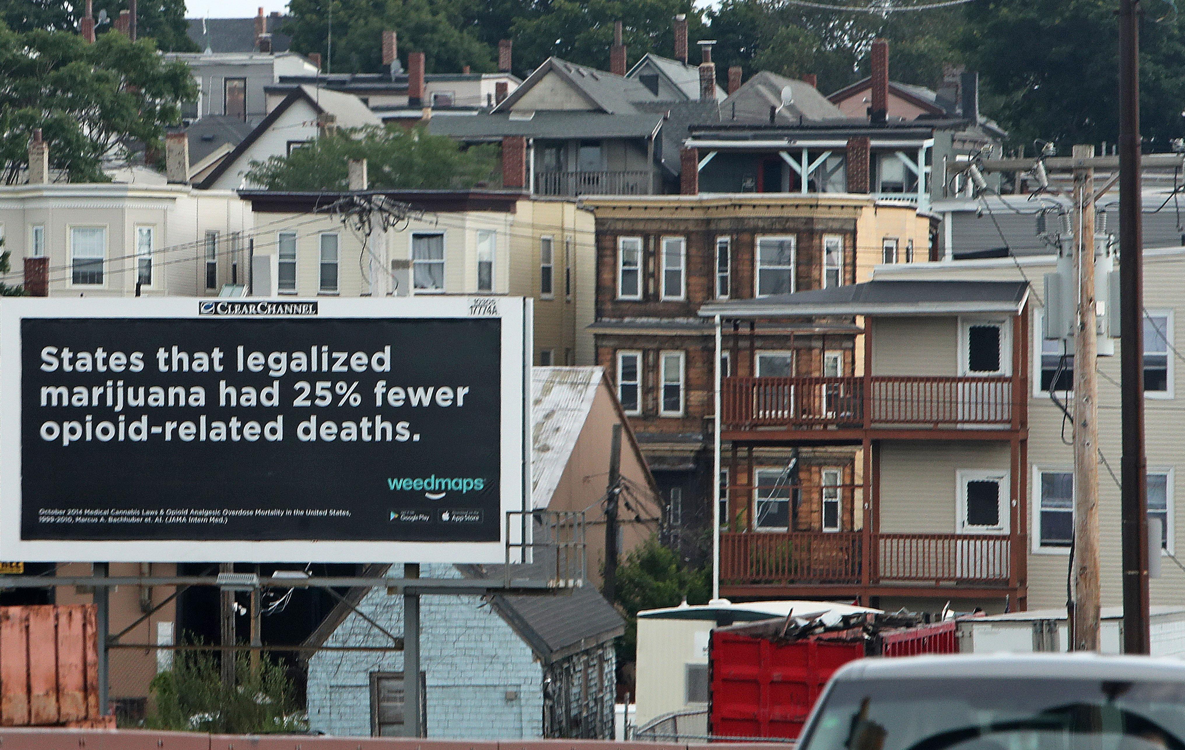Marijuana billboard in South Boston called 'insensitive' - The