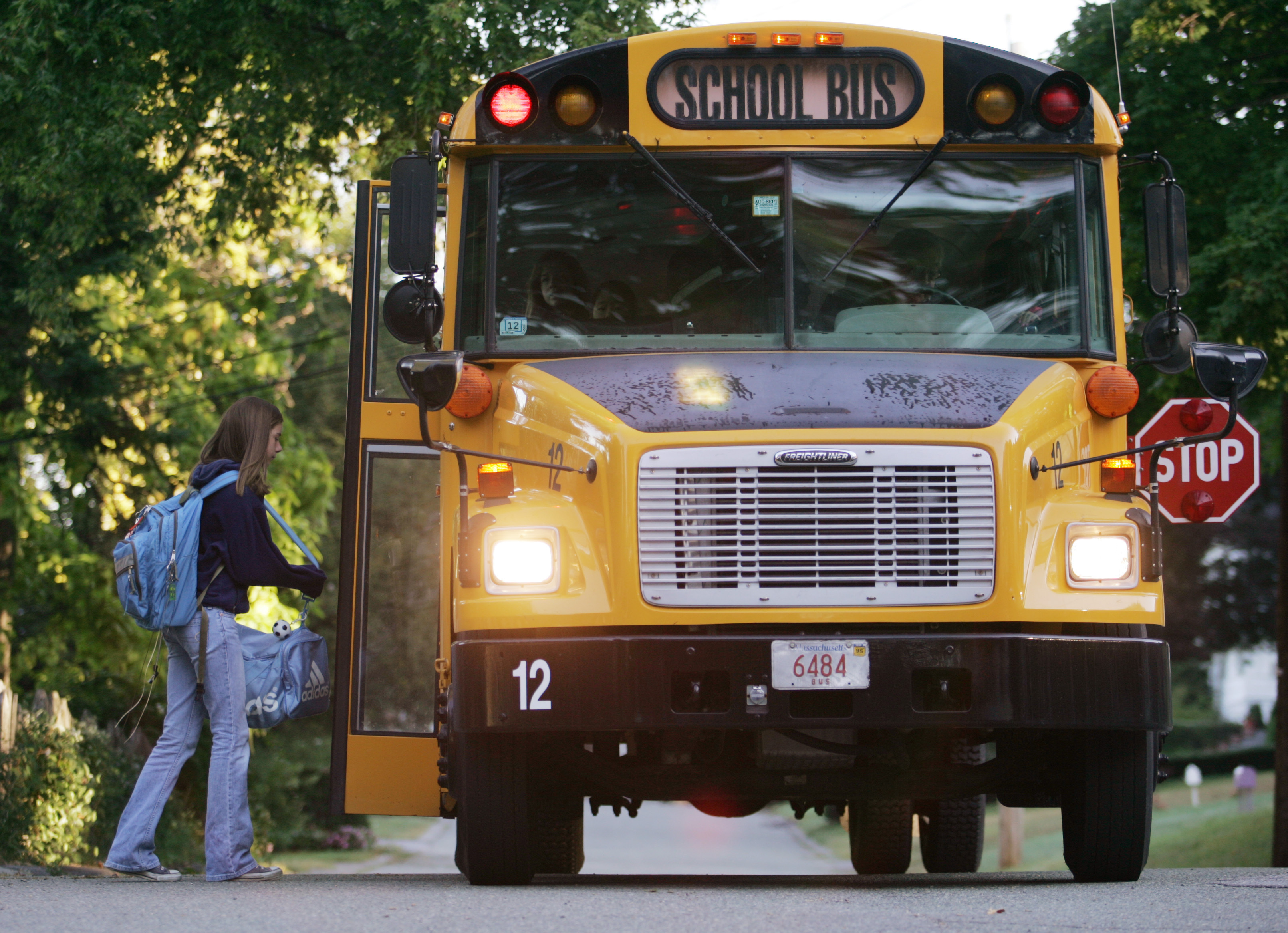 Most School Districts Can T Put Brakes On Bus Fees The Boston Globe