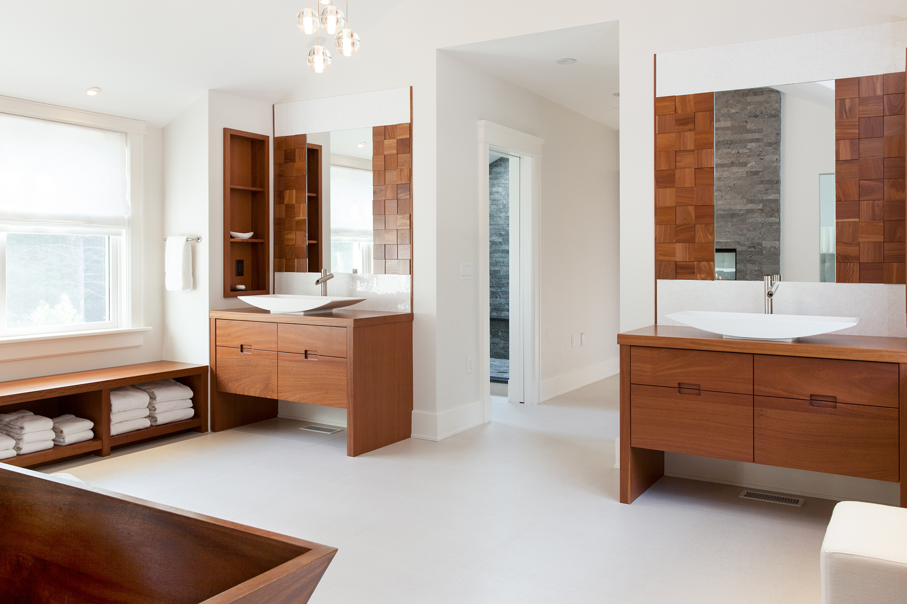 Enter The Master Bedroom Through The Bath Why Not The Boston Globe