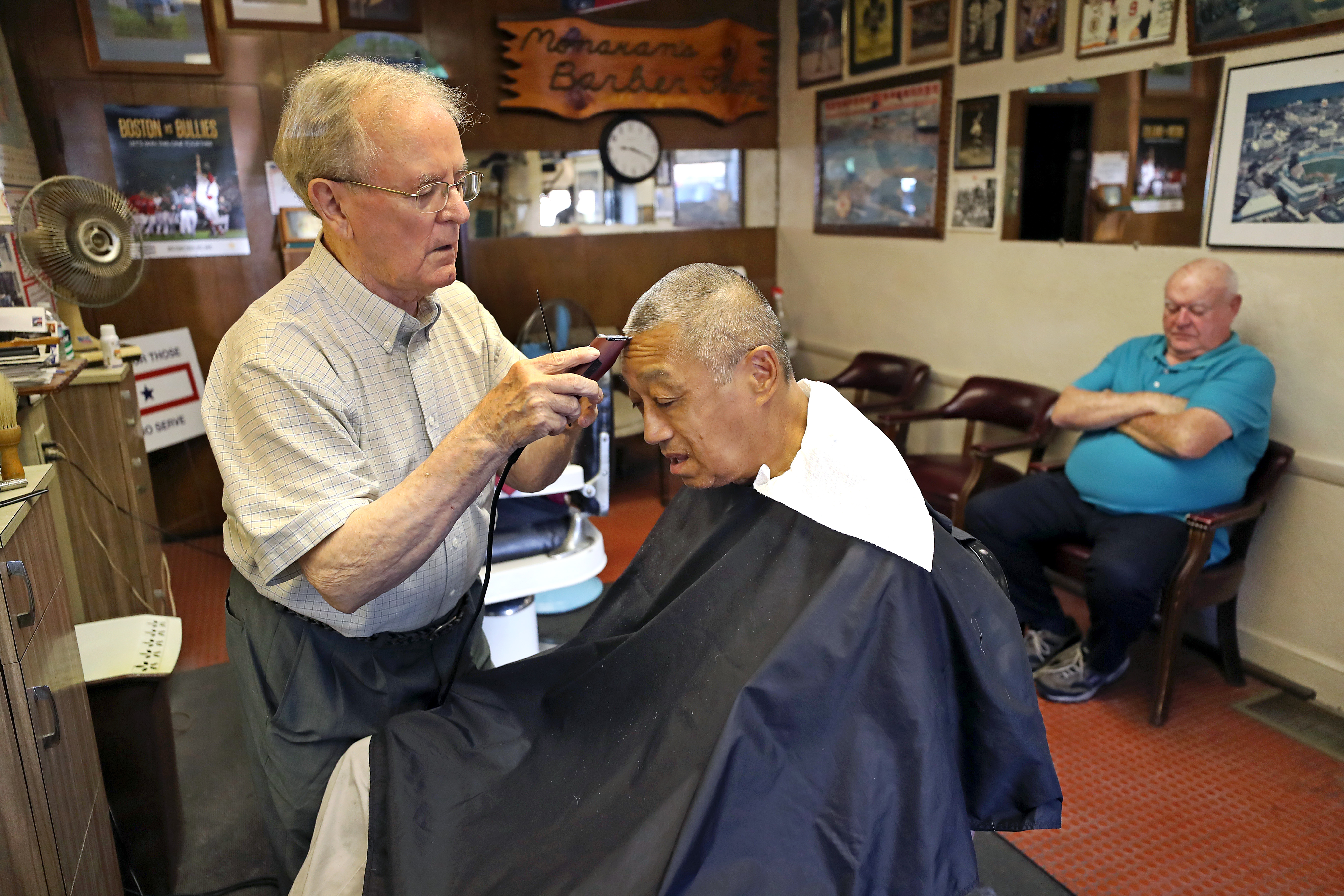 Joe The Barber Is About To Make His Final Cut The Boston Globe
