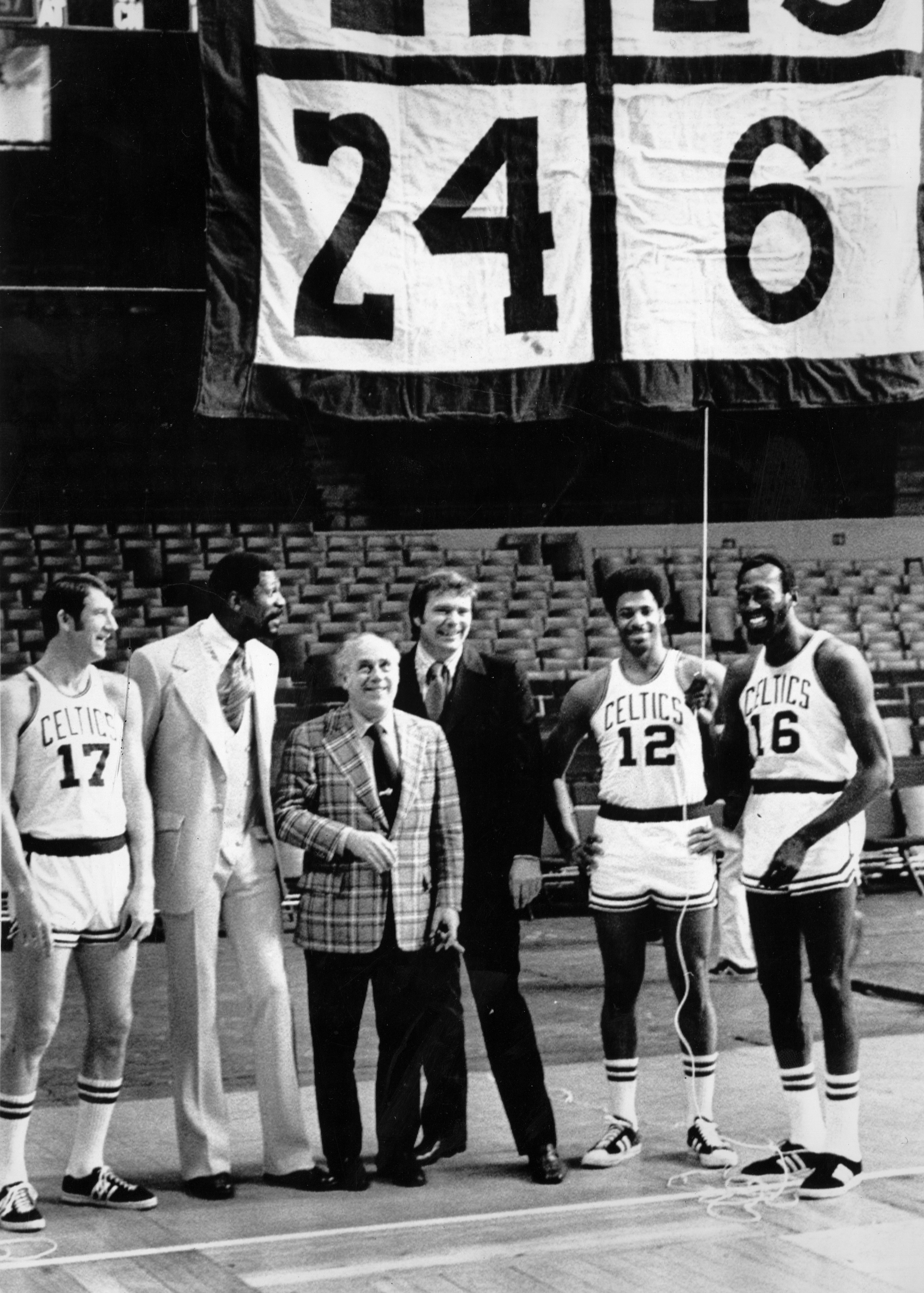 68bc09954e50 Why was Boston Garden nearly empty when Bill Russell s number was retired  in 1972  - The Boston Globe