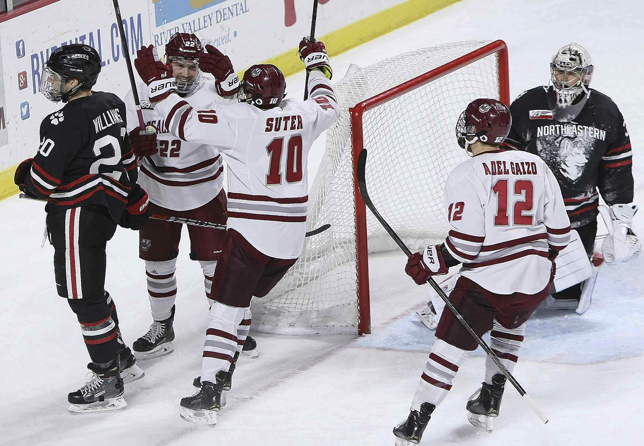 Previewing the Hockey East quarterfinals - The Boston Globe