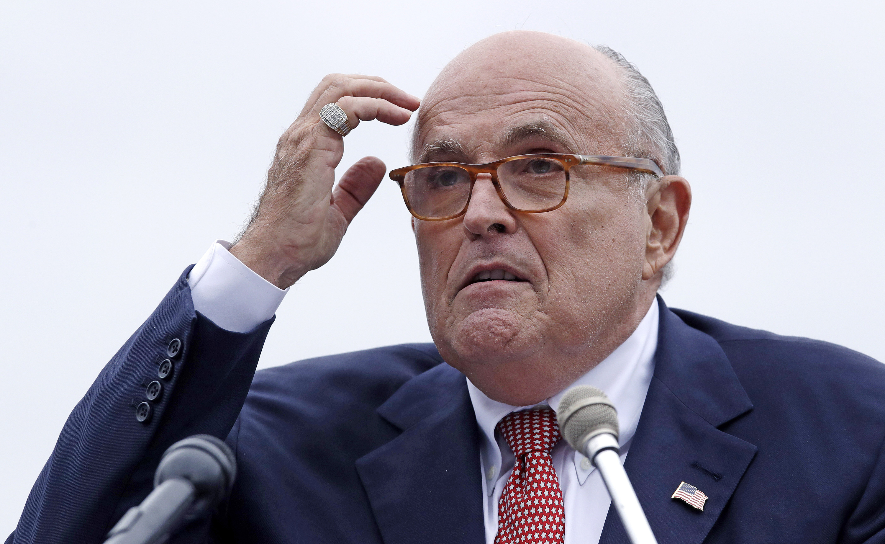 Image result for Rudy Giuliani consulted on Ukraine with imprisoned Manafort