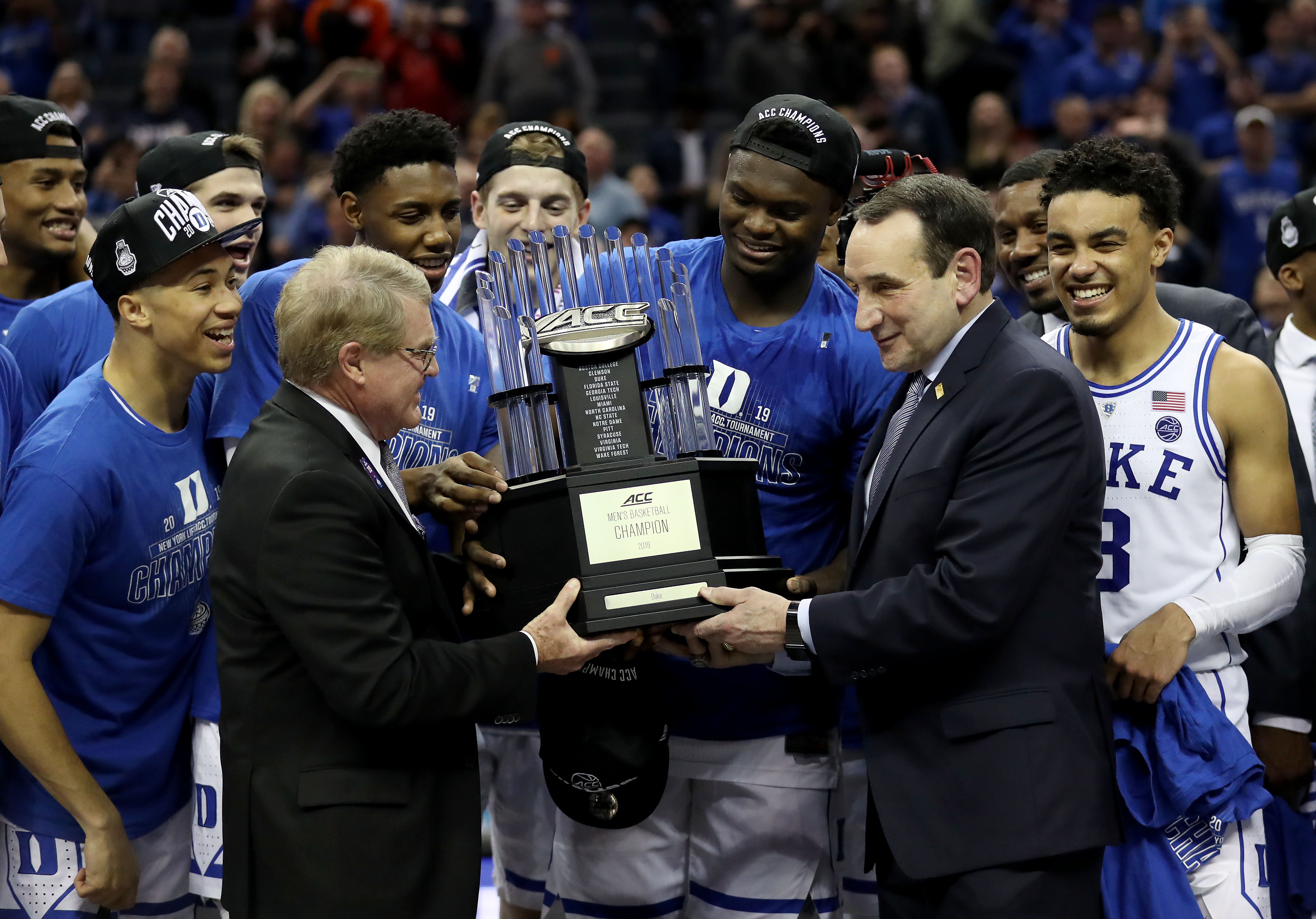 sports shoes dcae1 ccdac Duke earns No. 1 overall seed in men s NCAA Tournament - The Boston Globe