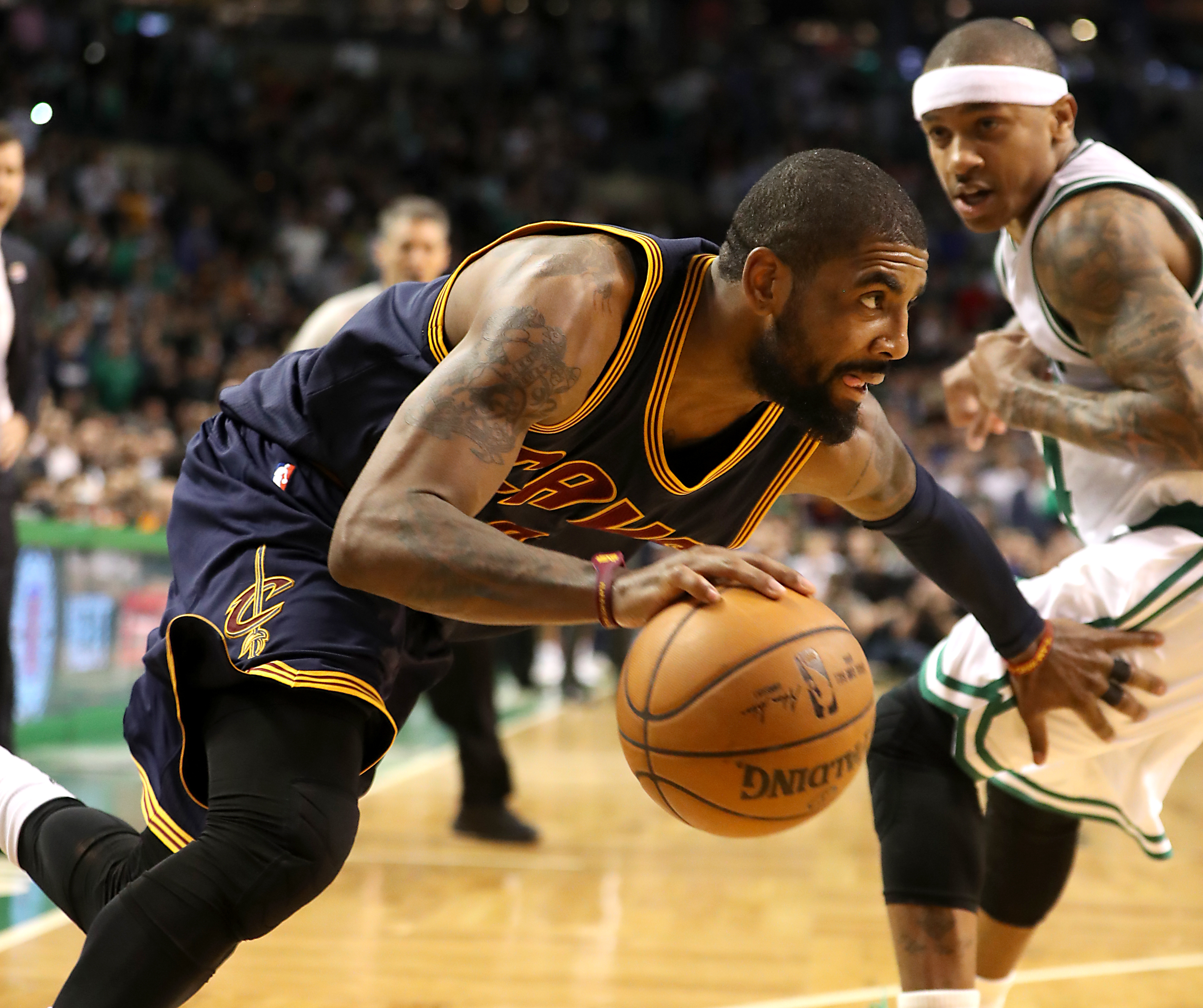 5da0361f81e Celtics and Cavaliers complete Kyrie Irving-Isaiah Thomas trade ...