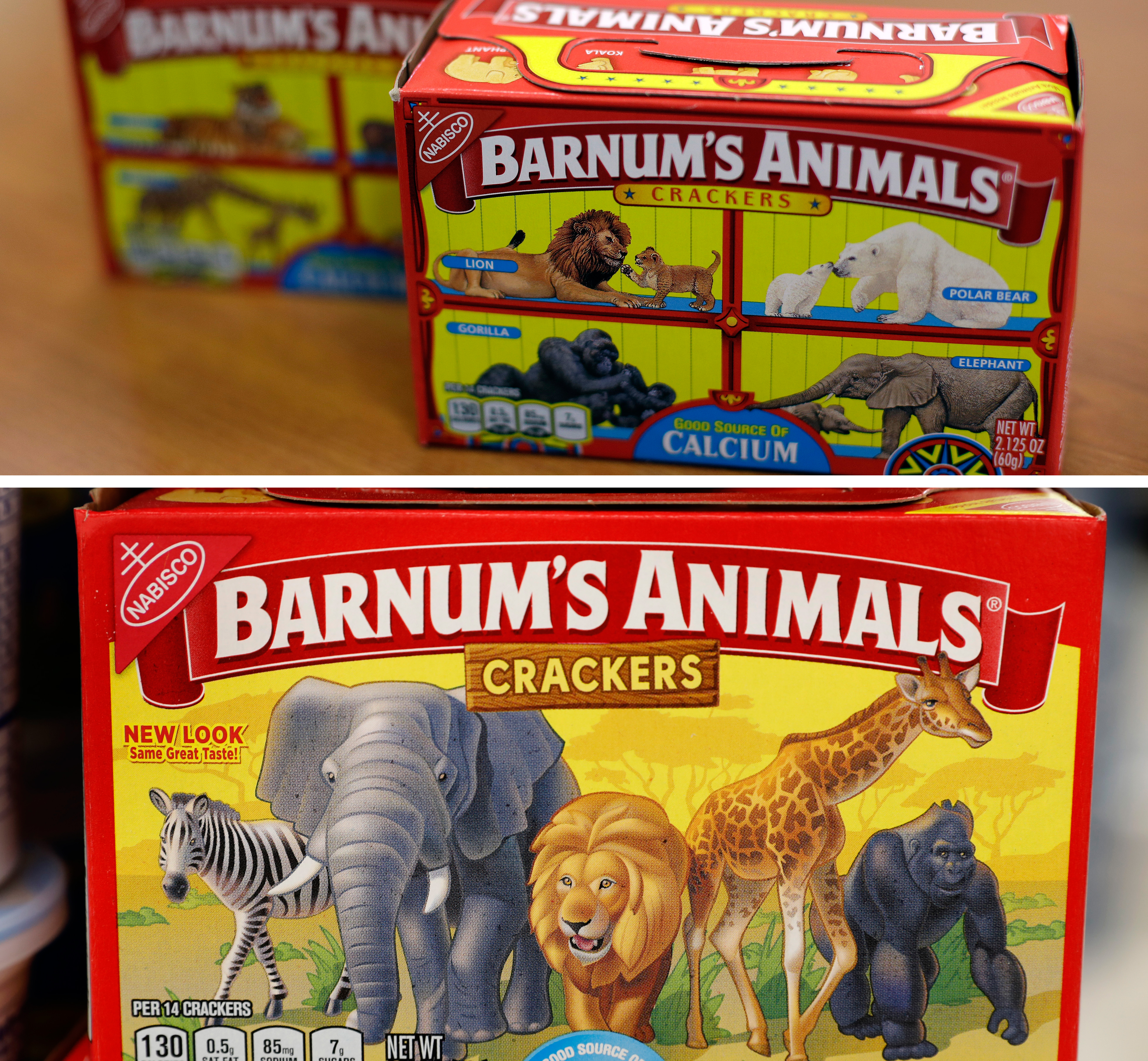Animal cracker boxes will no longer feature cages