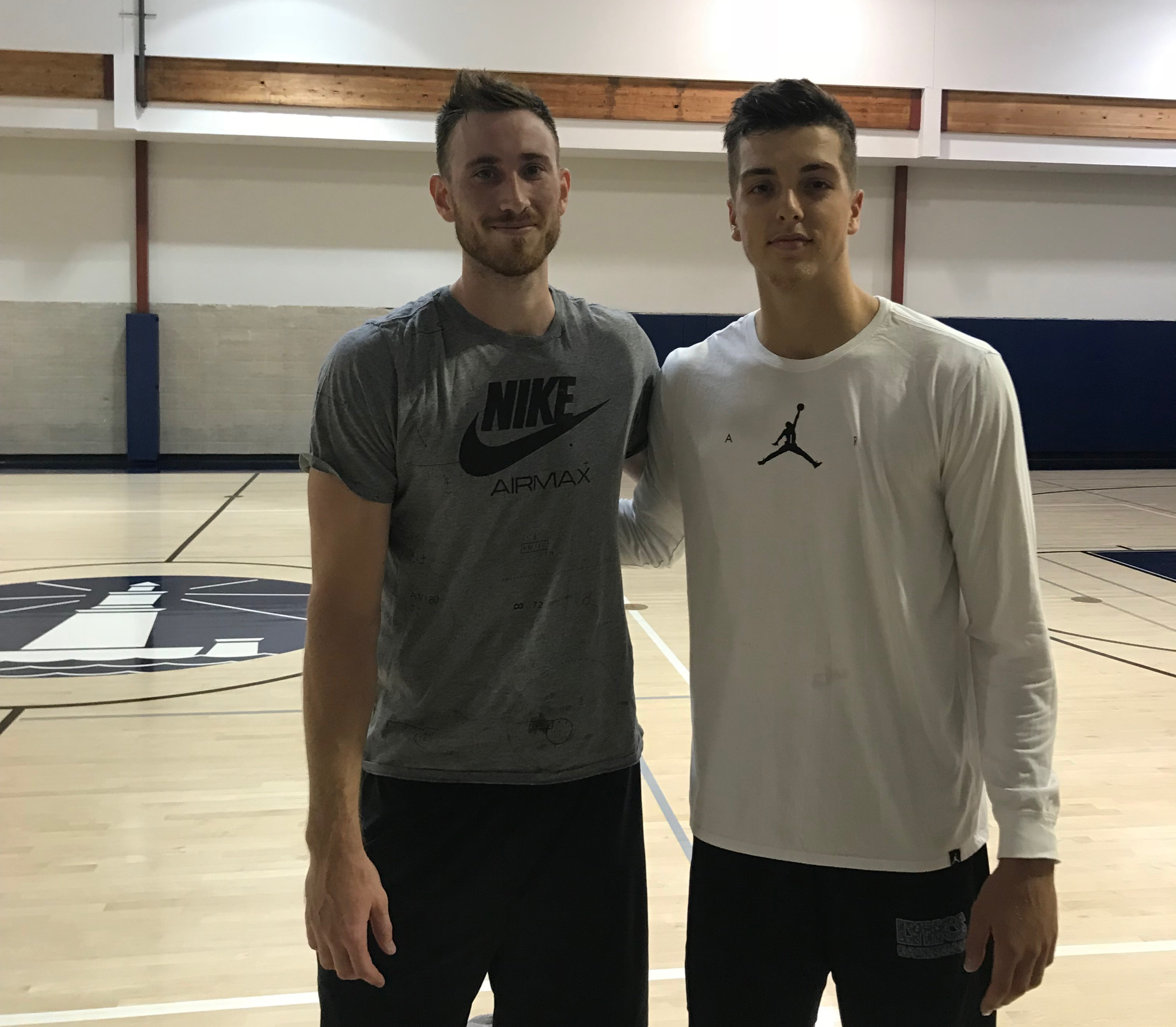 When Gordon Hayward was ready for one-on-one, this Division 2 player