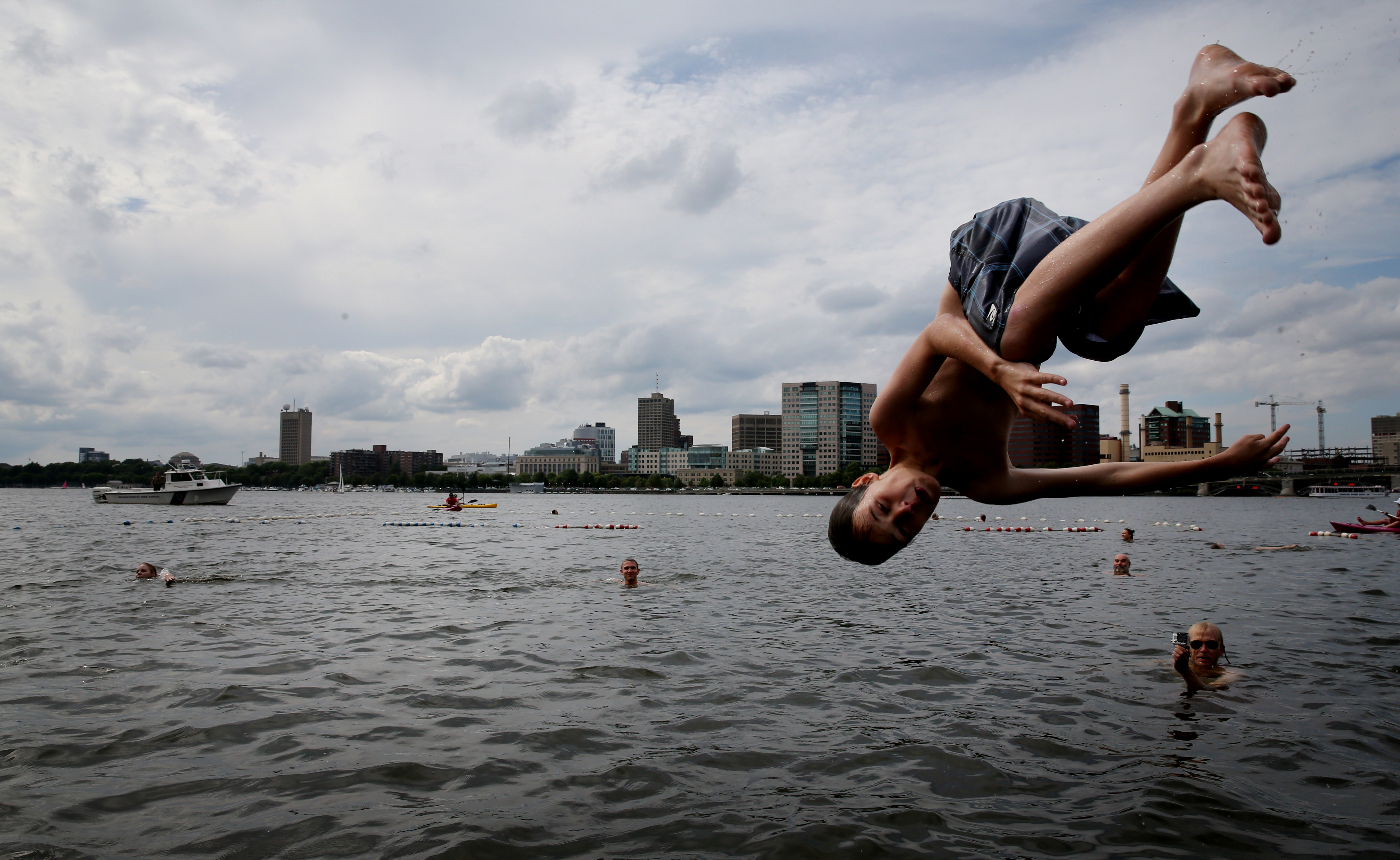 517174c603 Grab your swimsuits: Charles River Swimming Day is coming in June - The  Boston Globe