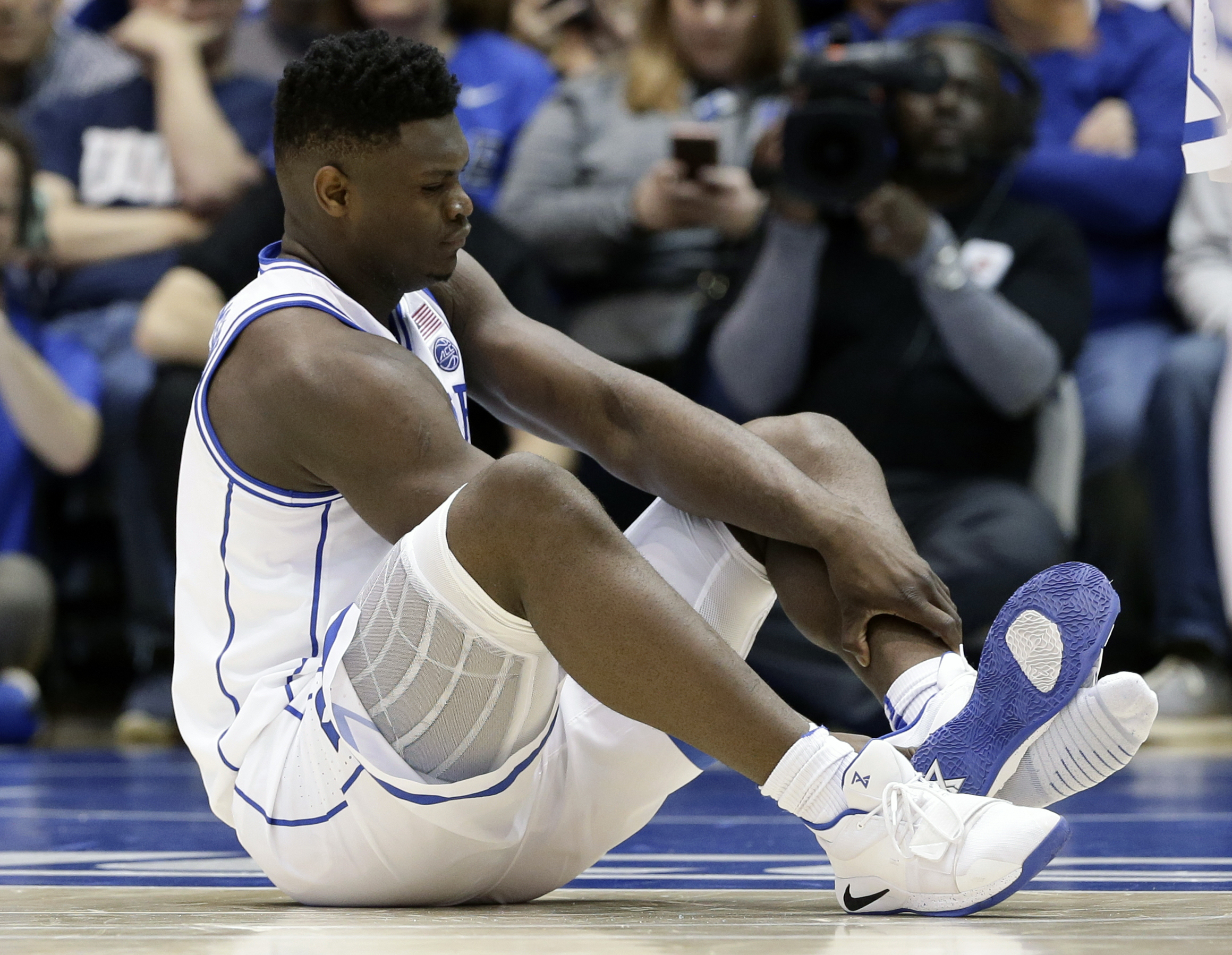 4dc59ce2761 Zion Williamson isn't a student-athlete. He's an employee of Coach K Inc.