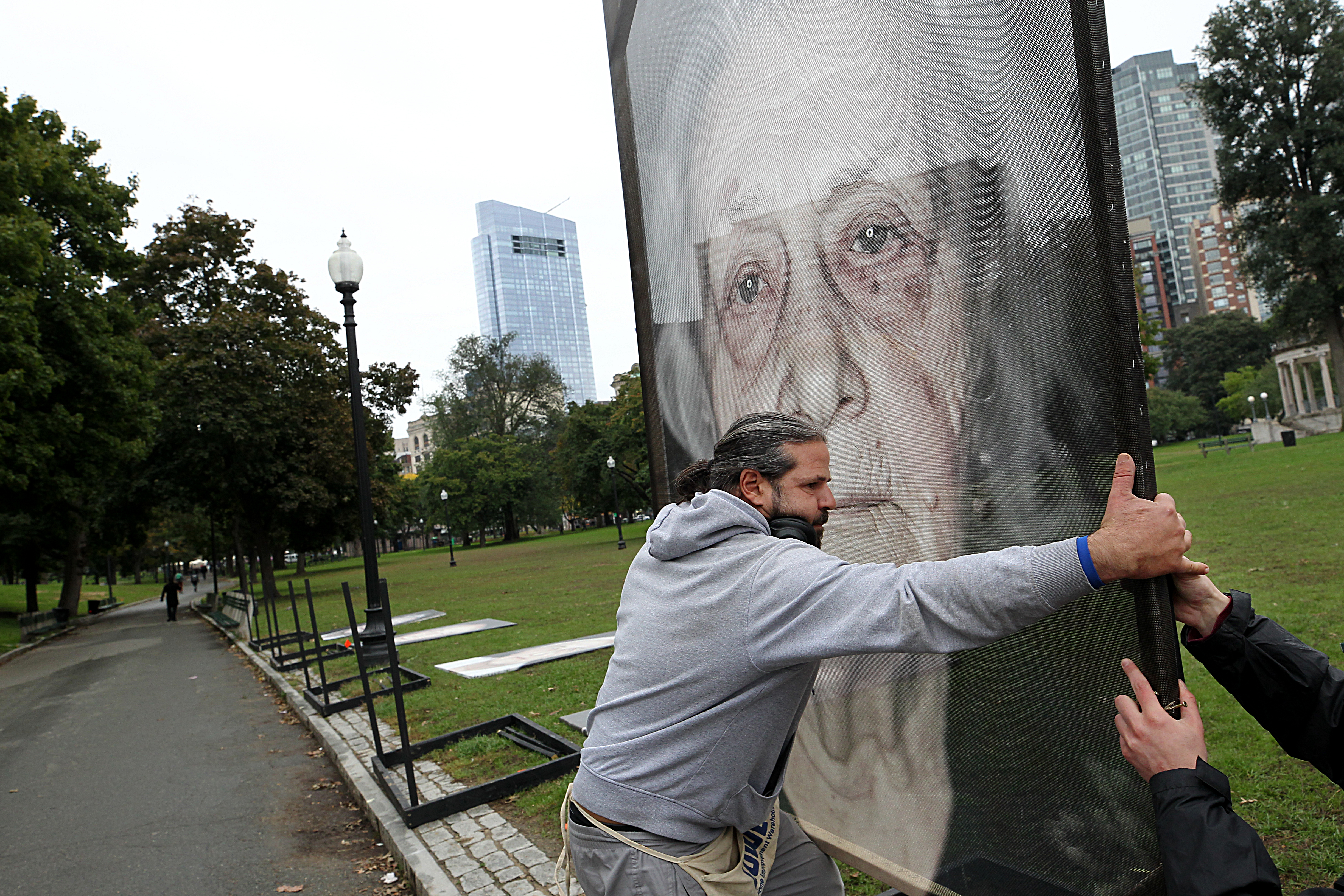 Portraits of Holocaust survivors look history in the face