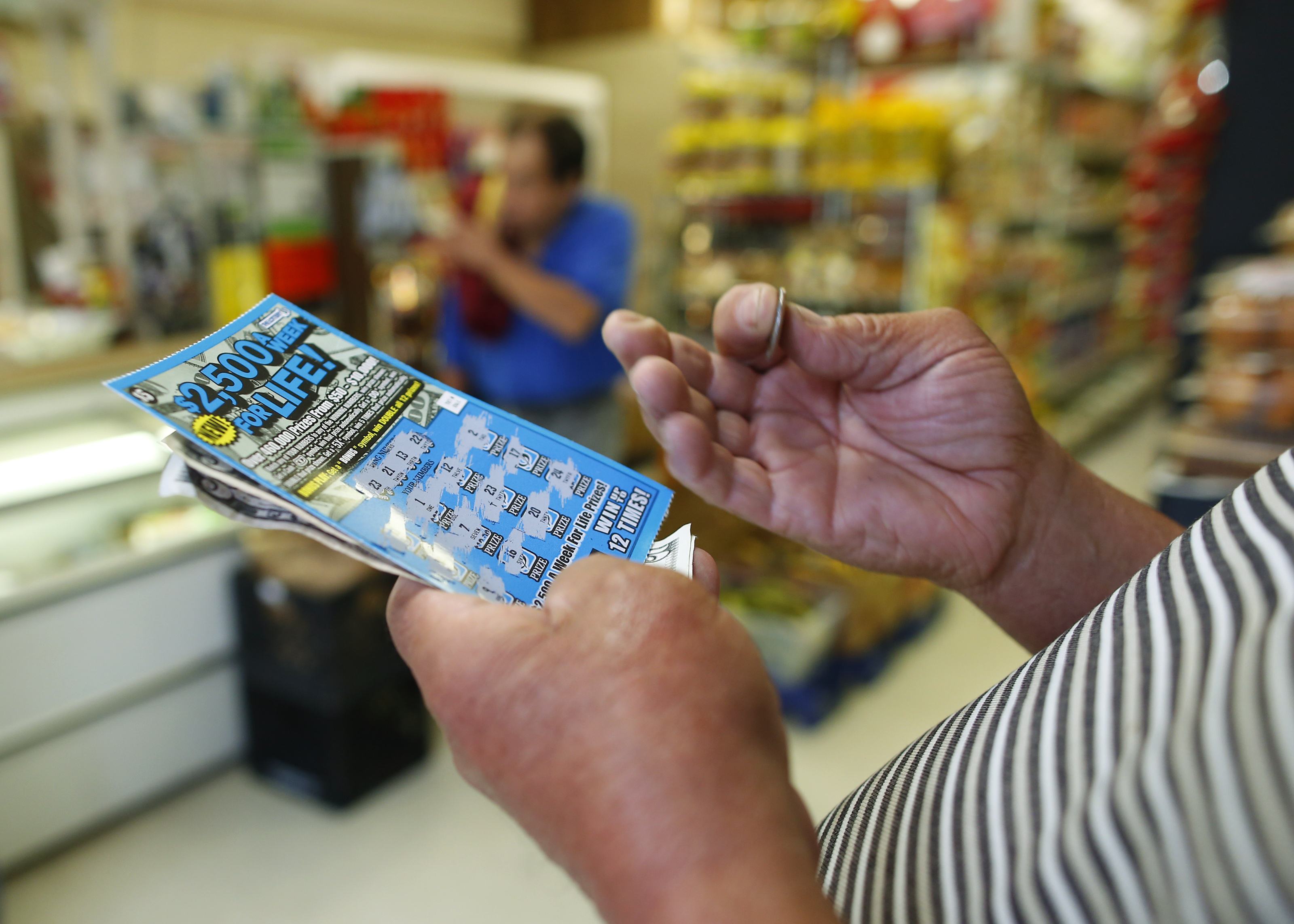 Lawbreakers or just really lucky? Mass  has more repeat lottery