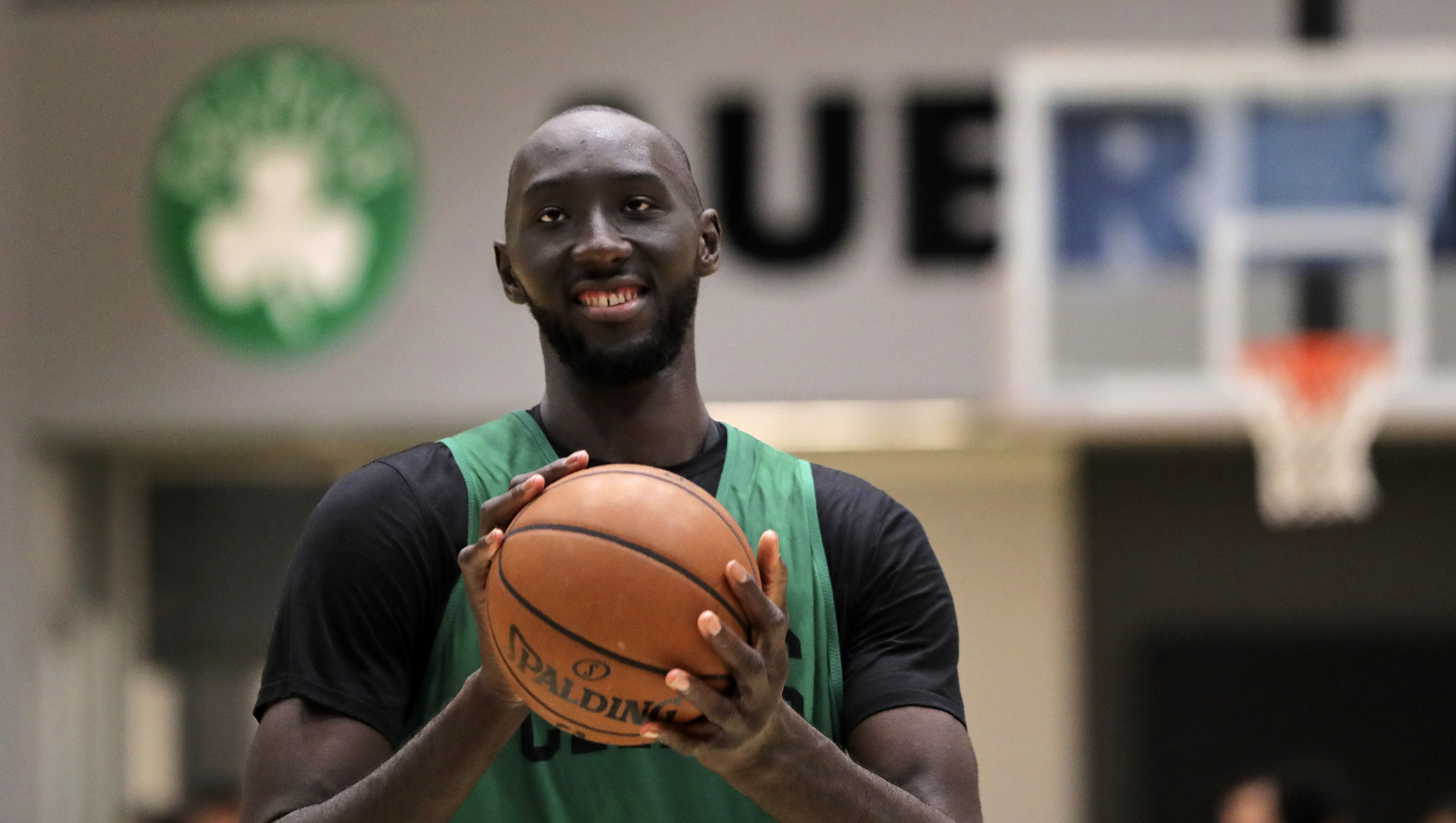 7-foot-6-inch Celtic Tacko Fall's unlikely journey to the brink of the NBA