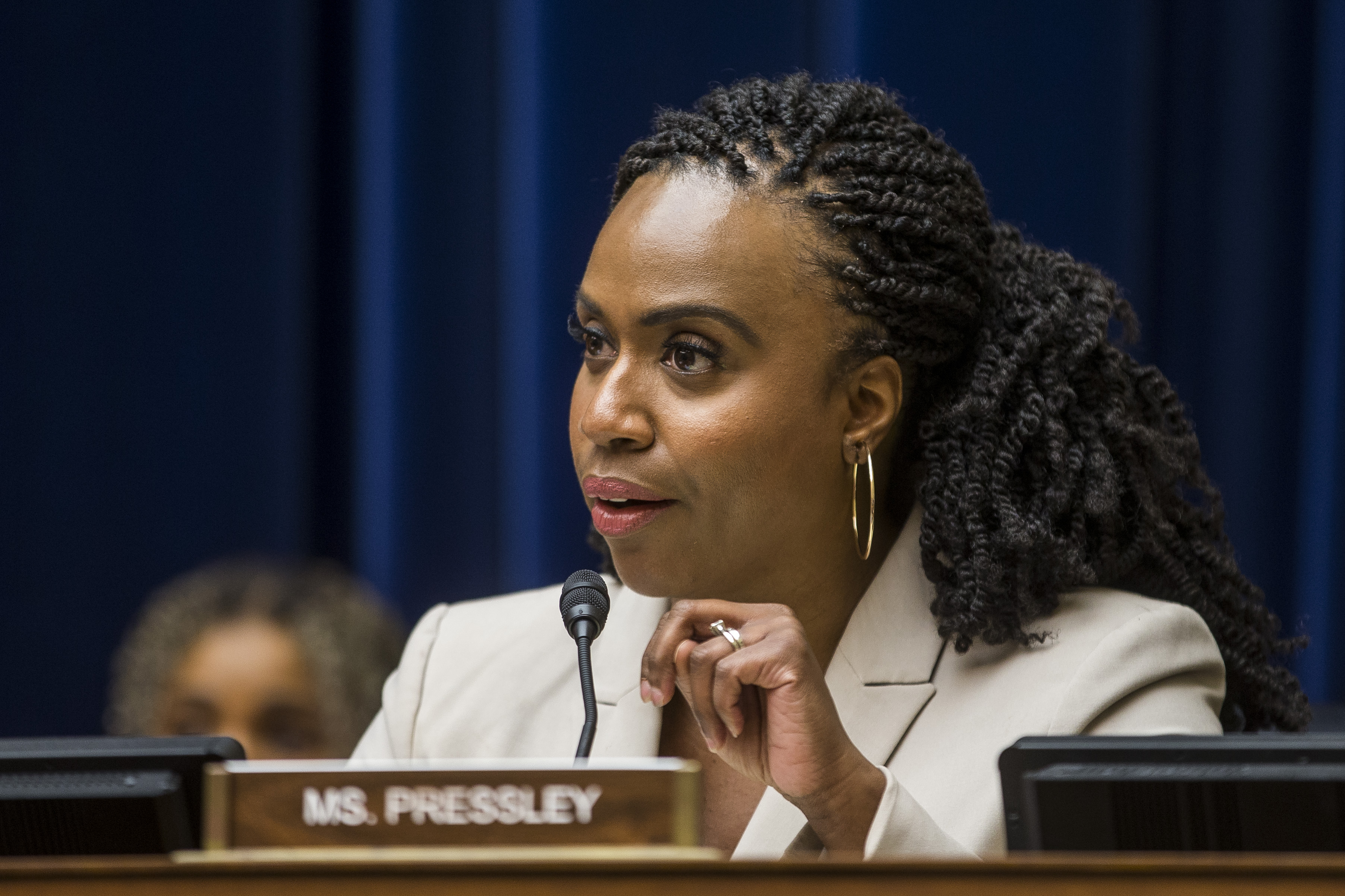 Ayanna Pressley hits back at Trump: 'This is what racism looks like'