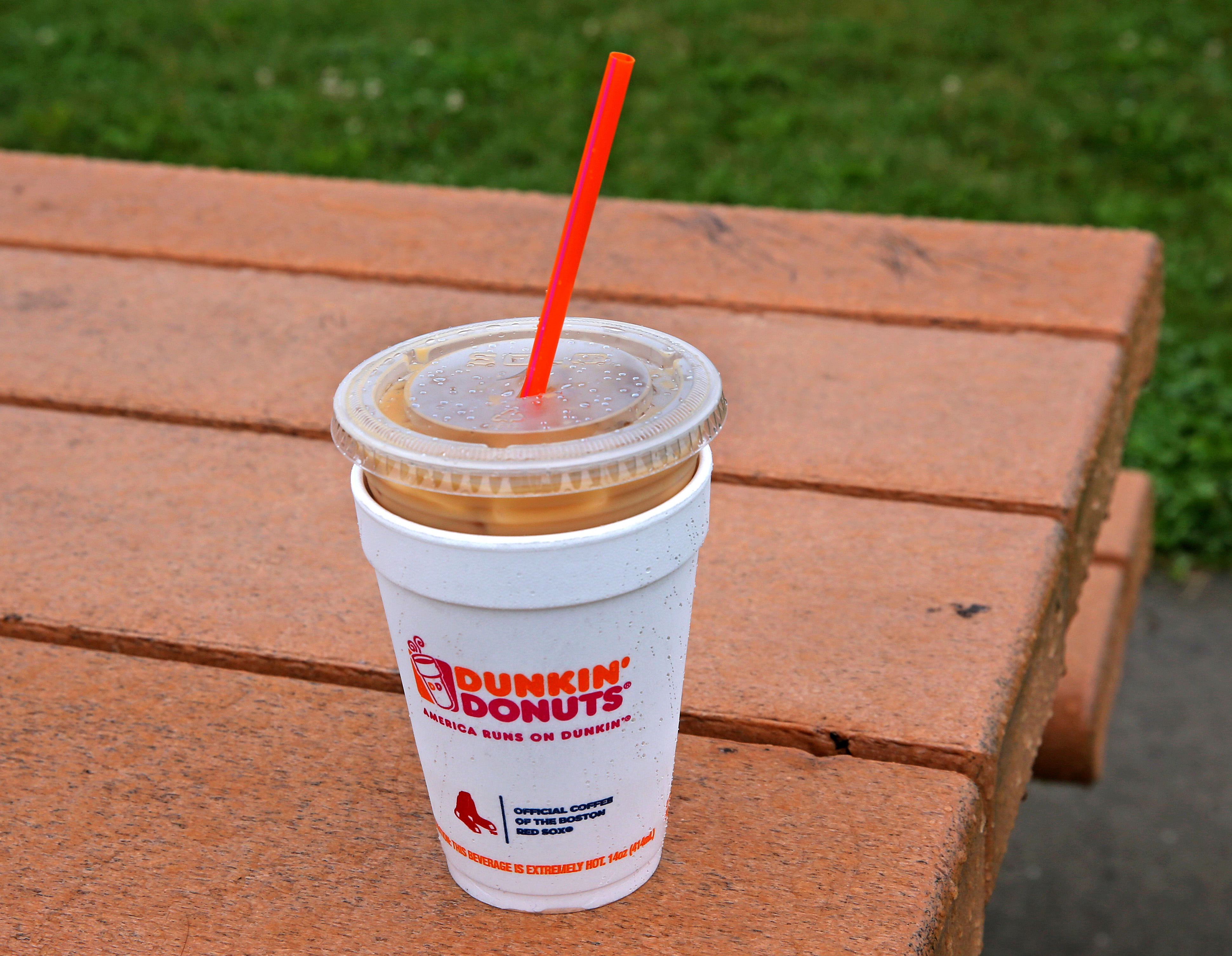 dc267f9e548 Someone complained about Dunkin' Donuts hot cups on Facebook and a war  broke out