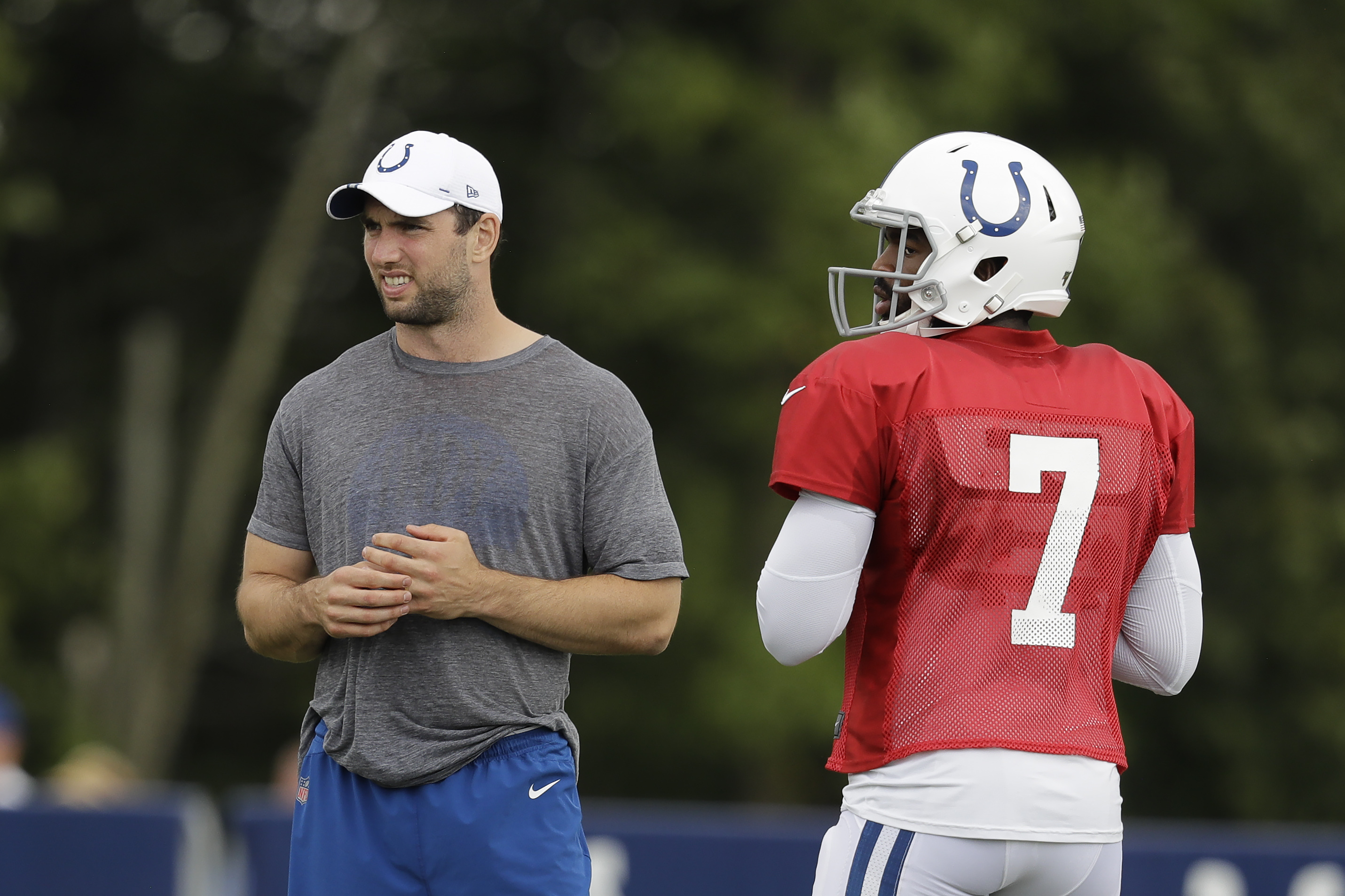 With two weeks left in NFL training camps, several teams still unsettled at quarterback