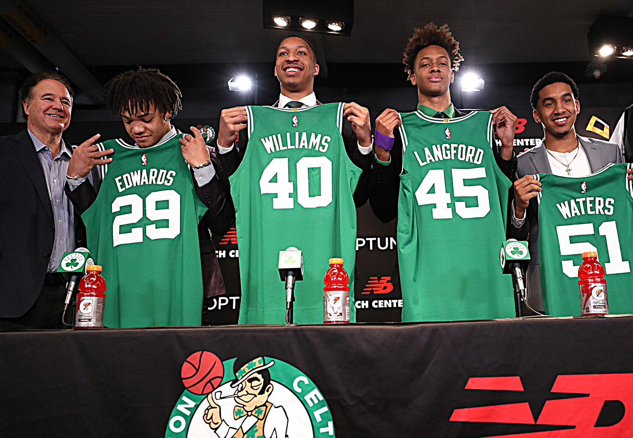 Celtics co-owner Steve Pagliuca excited about makeup of team