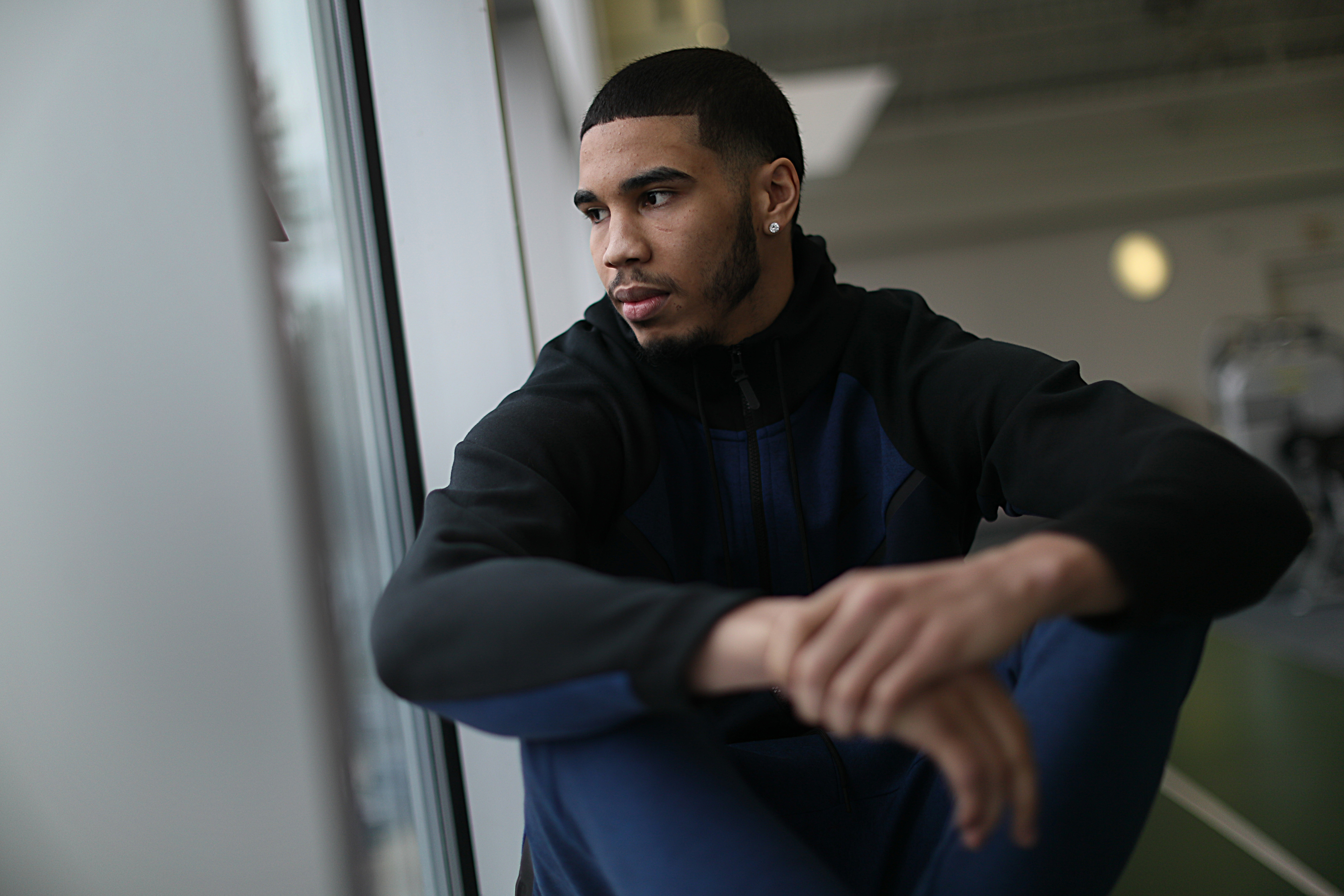 outlet store 4e2cd ee6be Jayson Tatum is at the door. 'He has a passion to be great ...