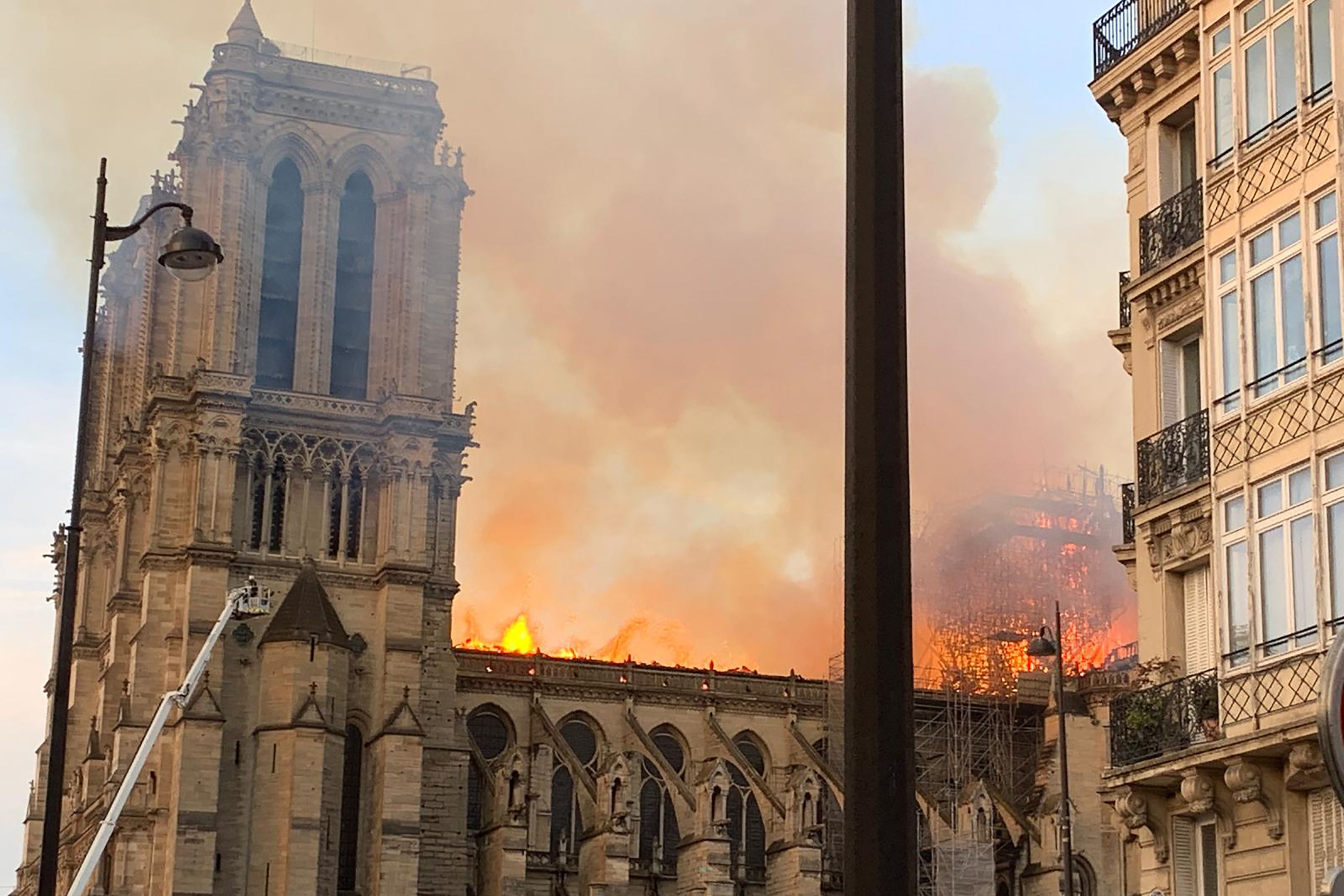 Trump Suggested Dropping Water On Notre Dame Fire That