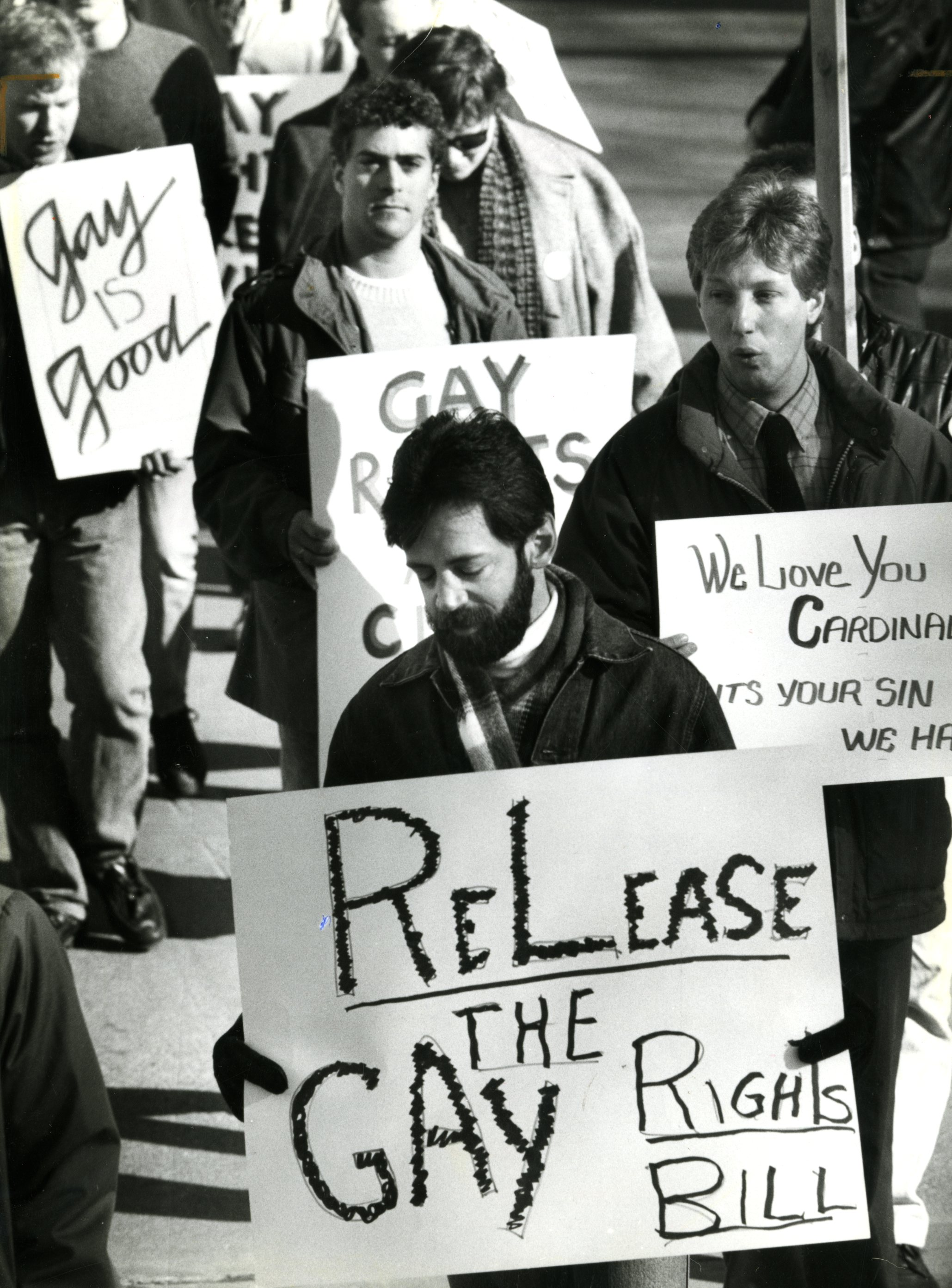 Twenty-five years ago, a key moment in gay rights fight