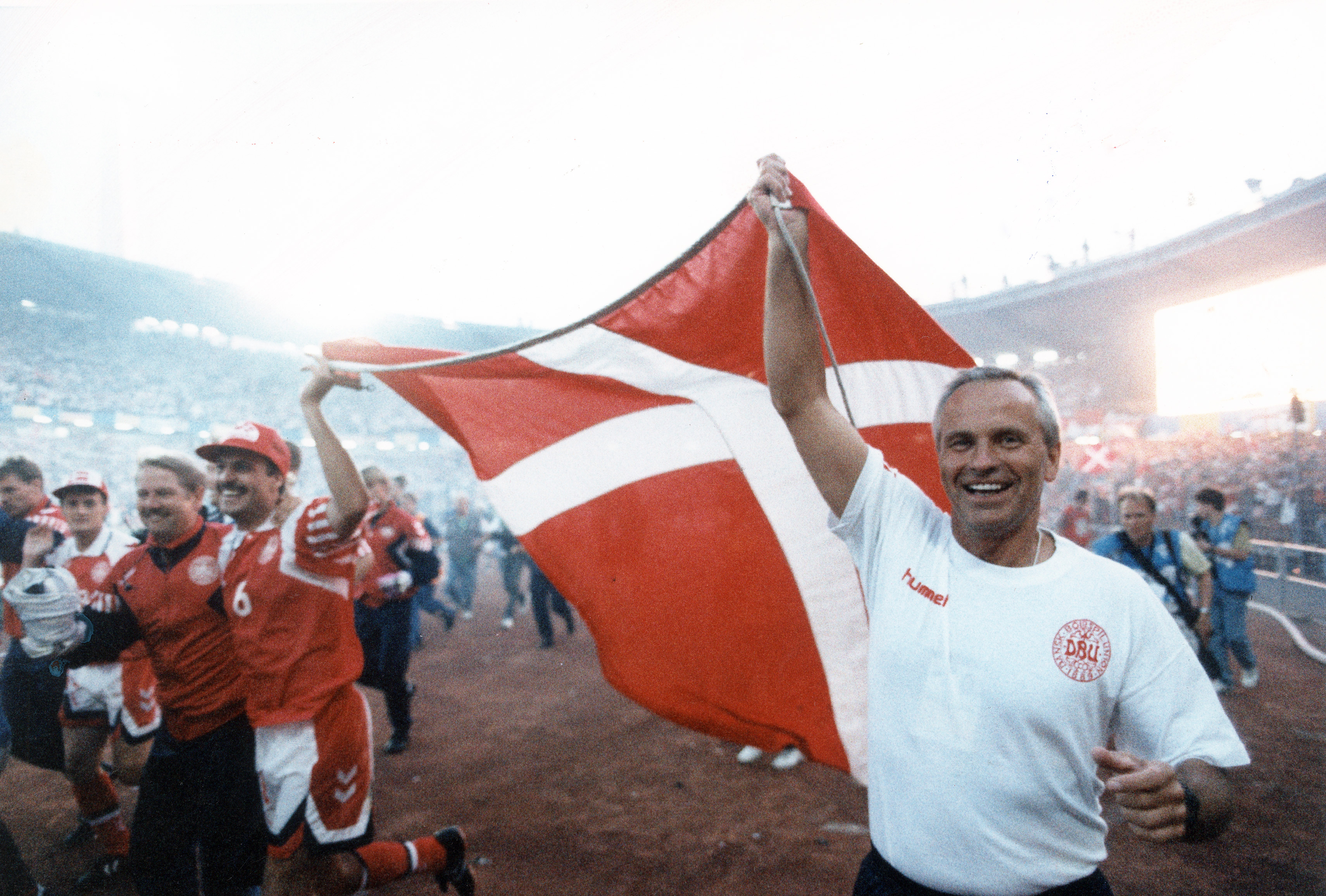 Coach Richard Moller Nielsen; guided Denmark to soccer glory - The Boston  Globe