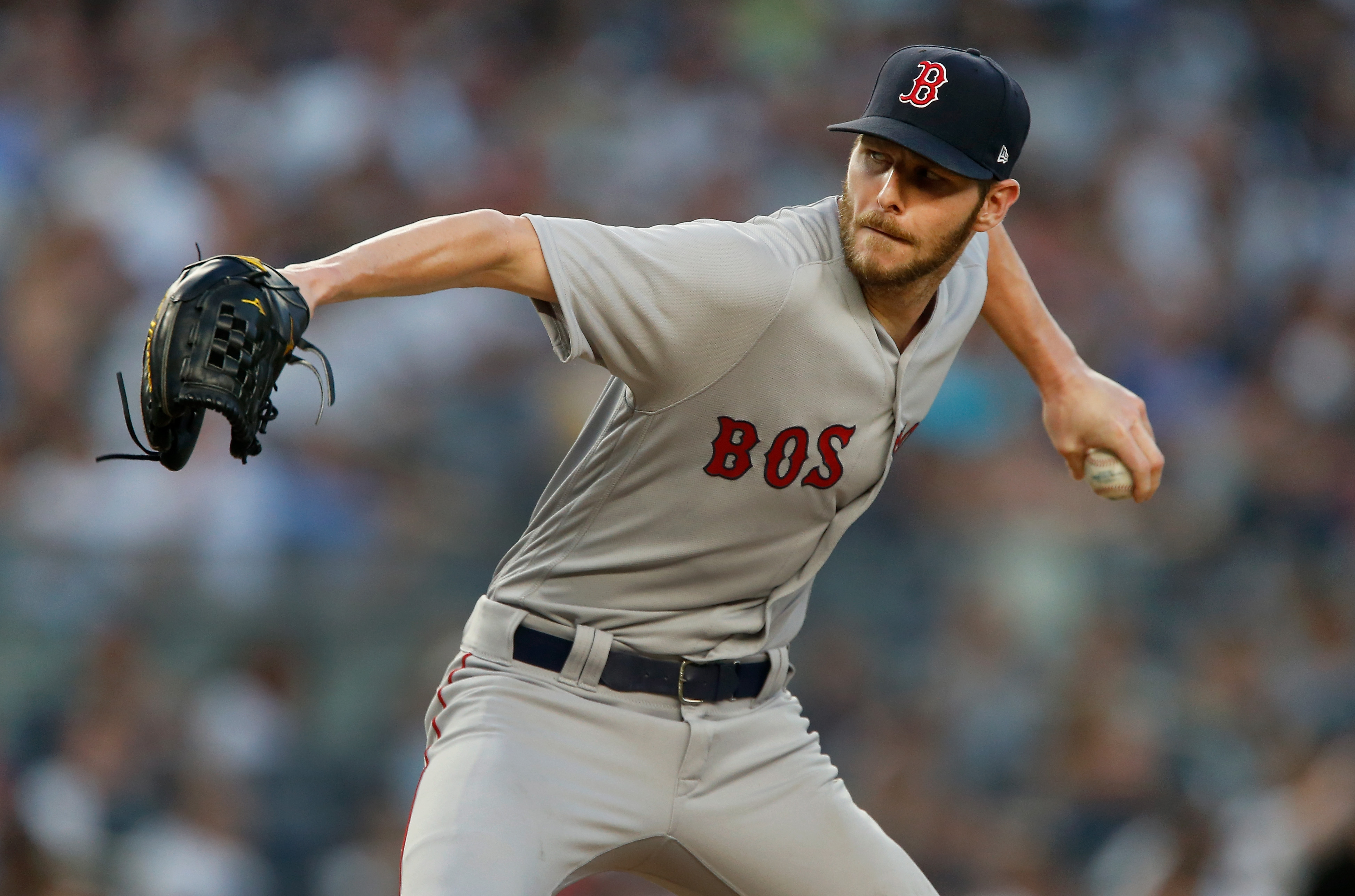 c616a0ef4b9d8 Chris Sale shut down the Yankees on a hot night in the Bronx - The ...