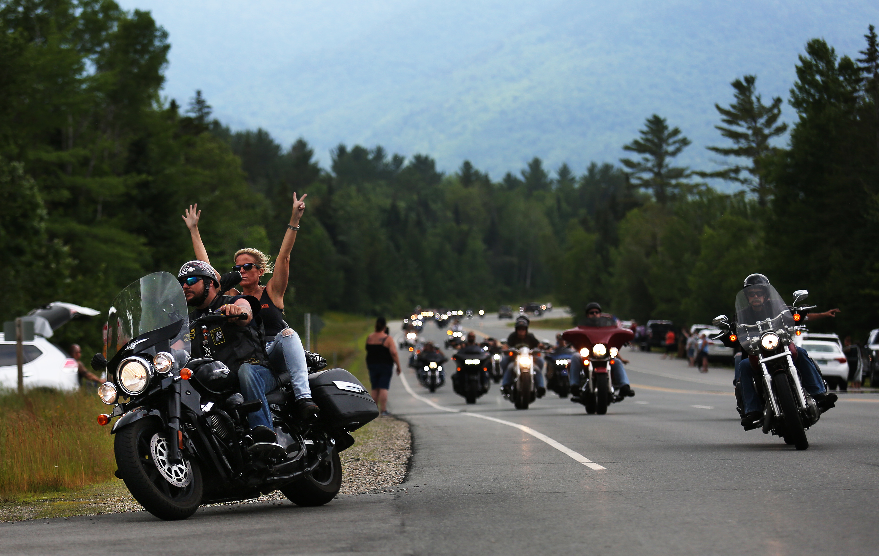 We are family': Bikers pay tribute to victims of deadly N H