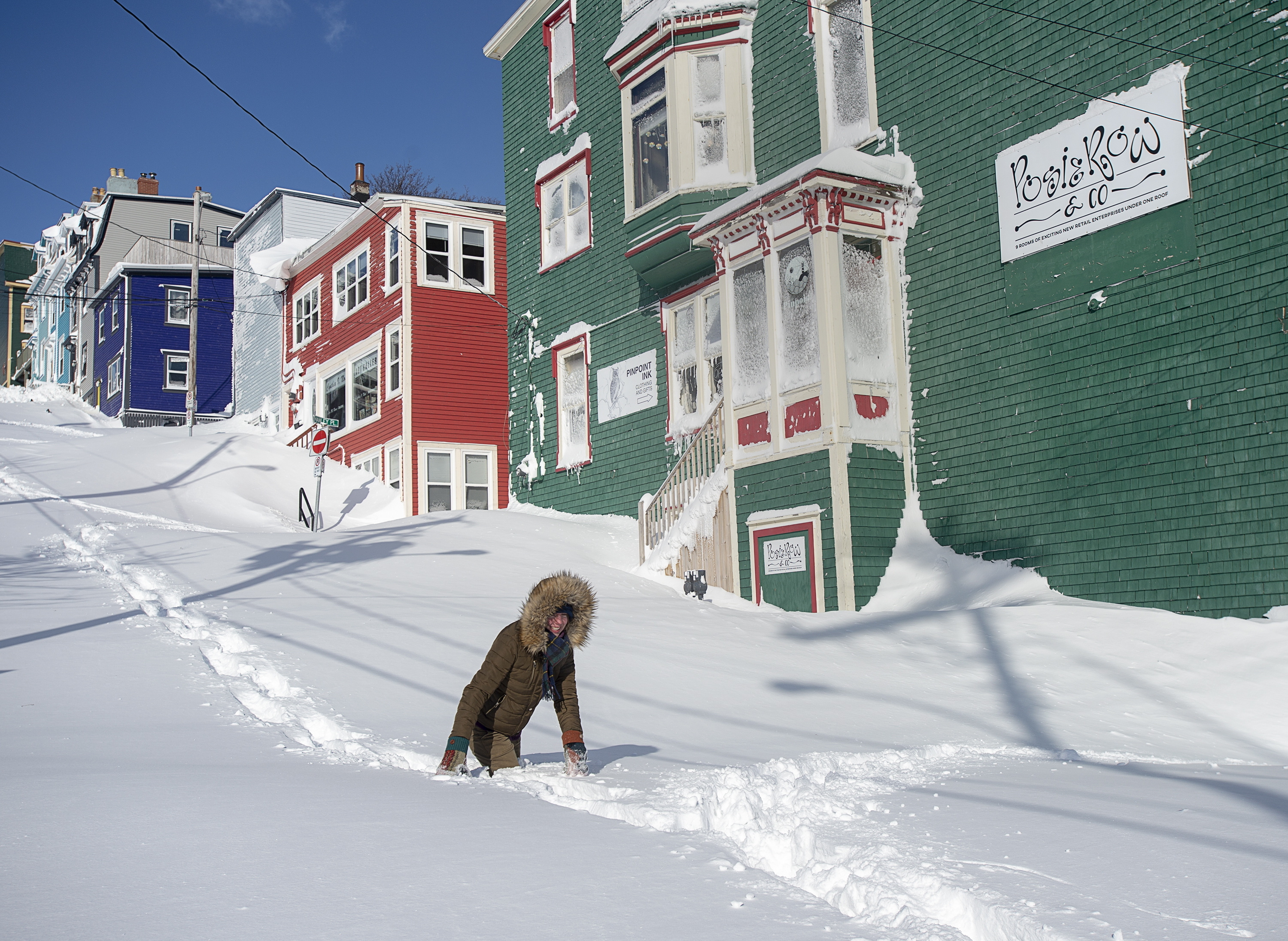 Newfoundland requests military help as record-setting blizzard buries city