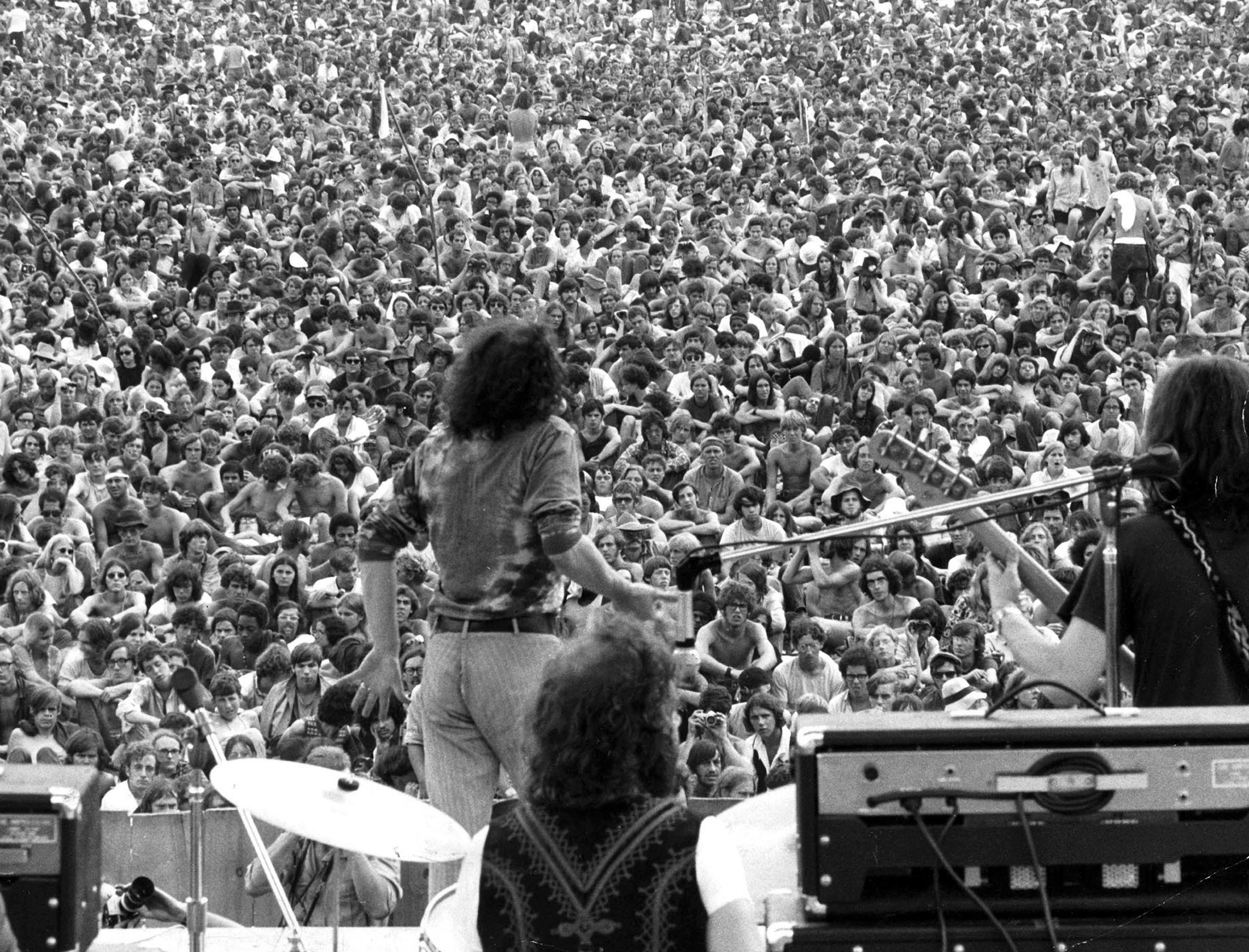 Archaeologists scour Woodstock 1969 concert field - The