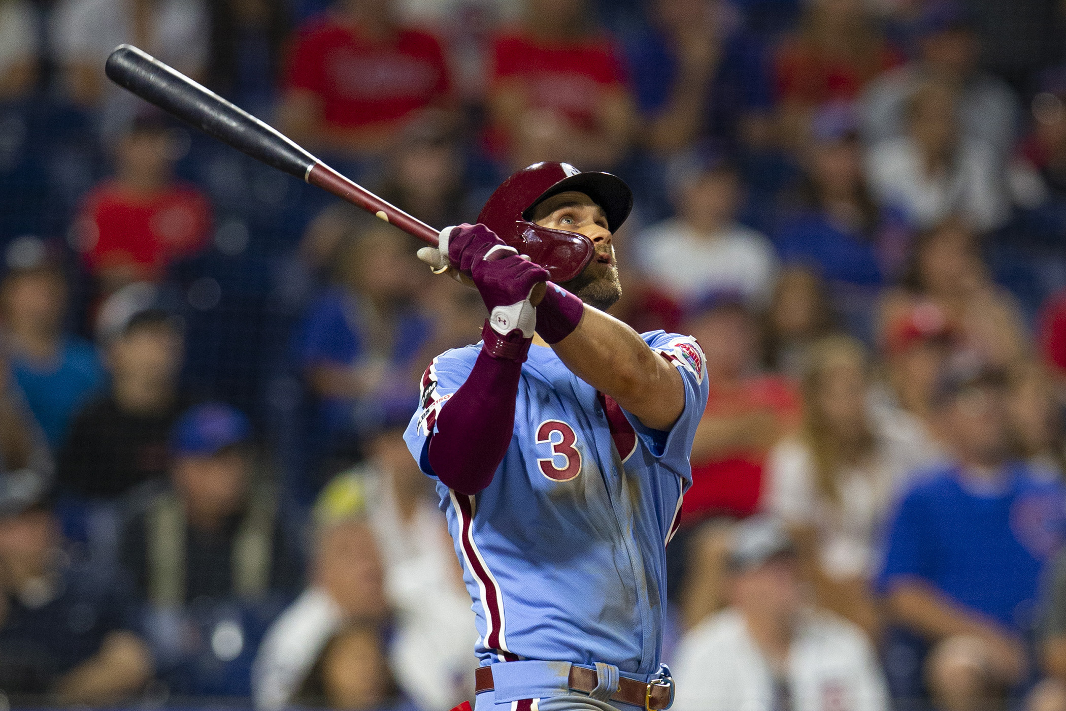 Bryce Harper S Walkoff Grand Slam Lifts Phillies Over Cubs The Boston Globe